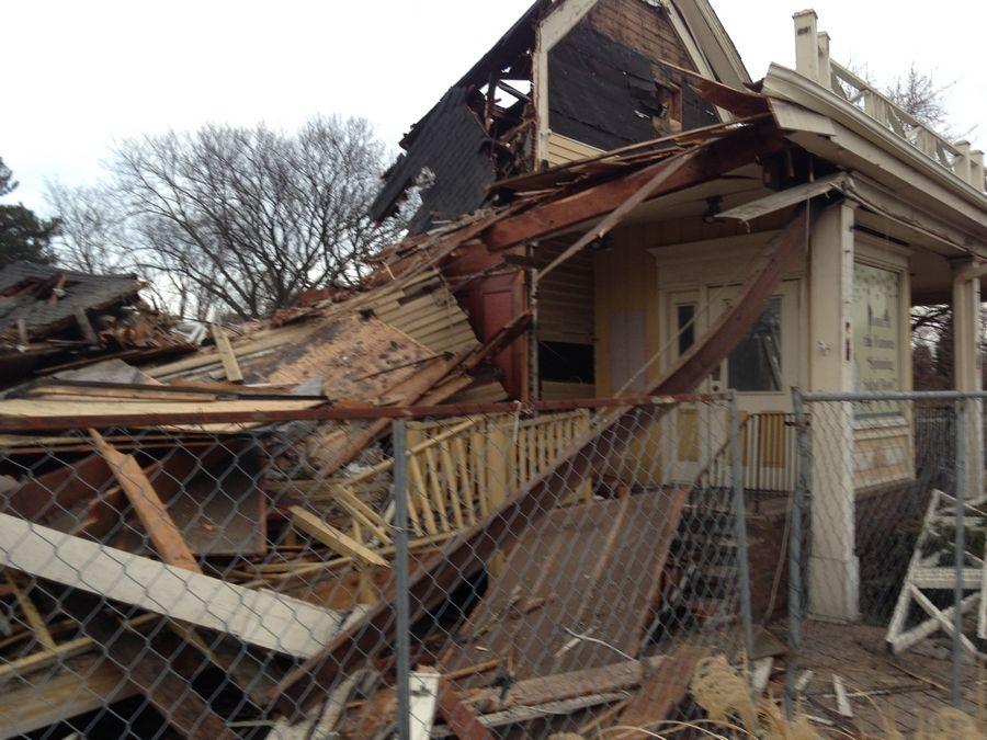 Historic Wheeling Restaurant Demolished