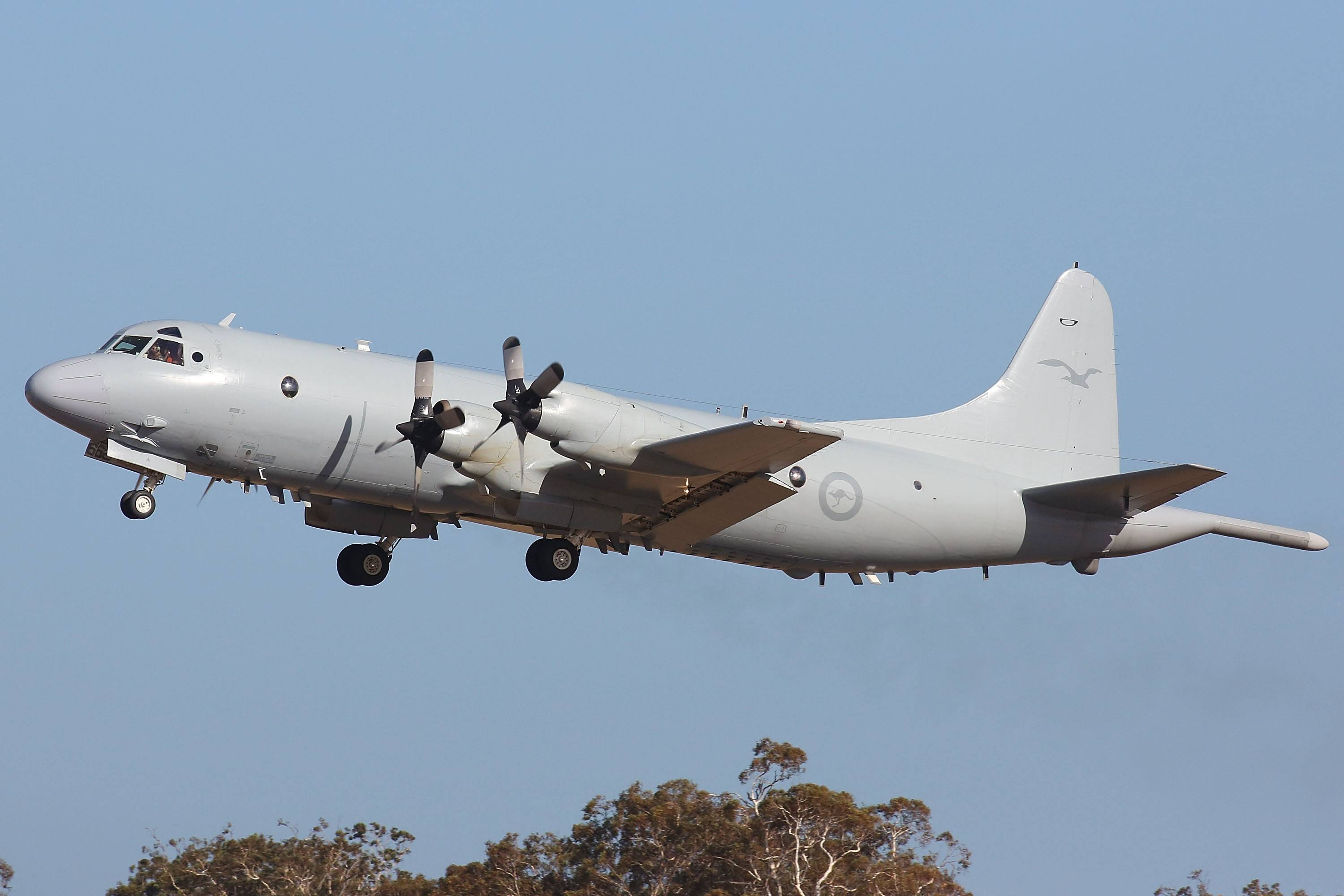 A Royal Australia Air Force AP-3C Orion leaves the RAAF Pearce Air Base Sunday in Perth, Australia, to continue the search for missing Malaysia Airlines Flight MH370. Planes and ships scrambled Sunday to find a pallet and other debris in a remote patch of the southern Indian Ocean.