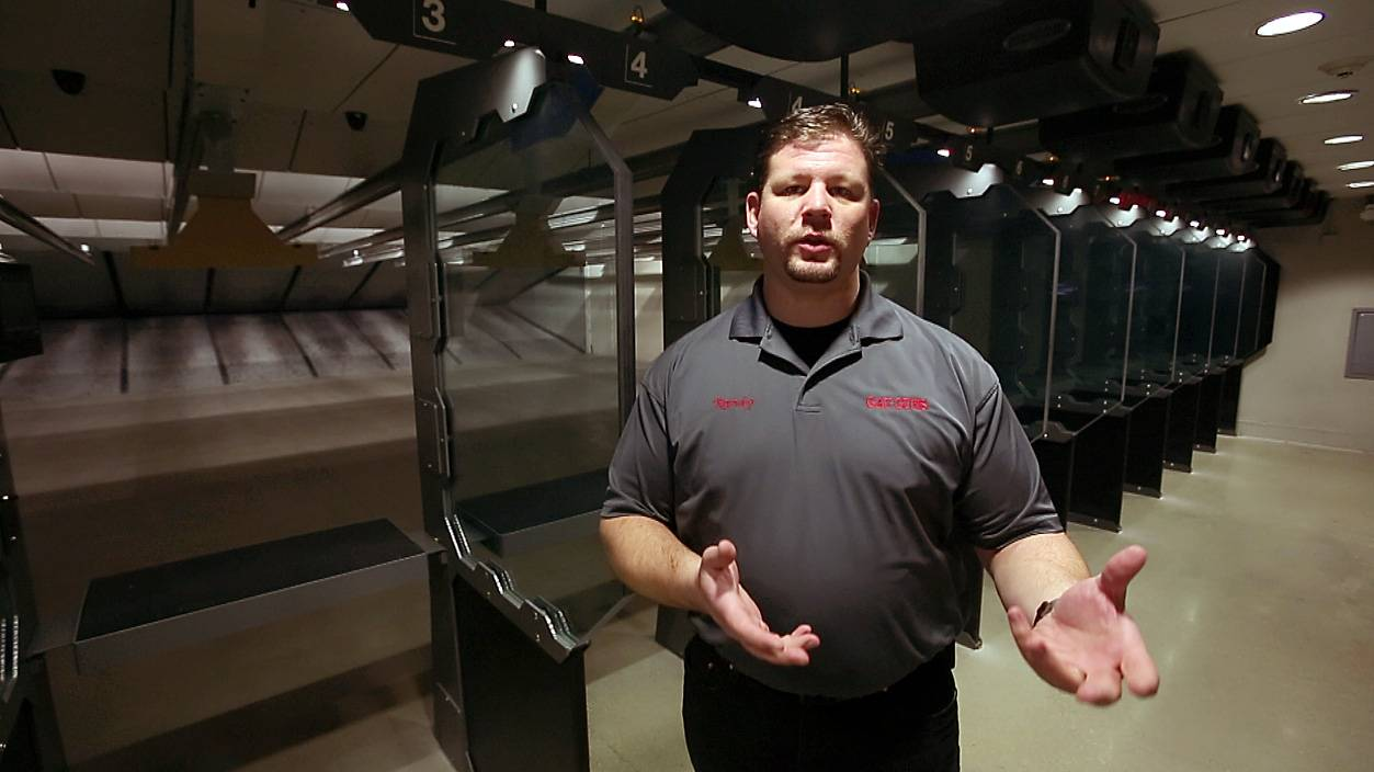 Randy Potter, general manager at GAT Guns in East Dundee, says the state's largest indoor gun range has seen a significant increase in use after Illinois became the final state to pass a concealed carry law.