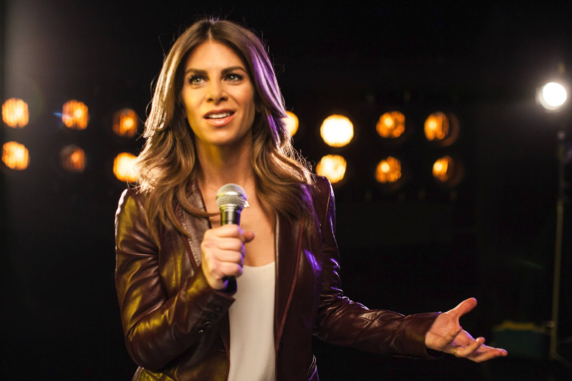 "Jillian Michaels brings her motivational live tour, ""Maximize Your Life,"" to the Rialto Square Theatre in Joliet on Wednesday, April 9."