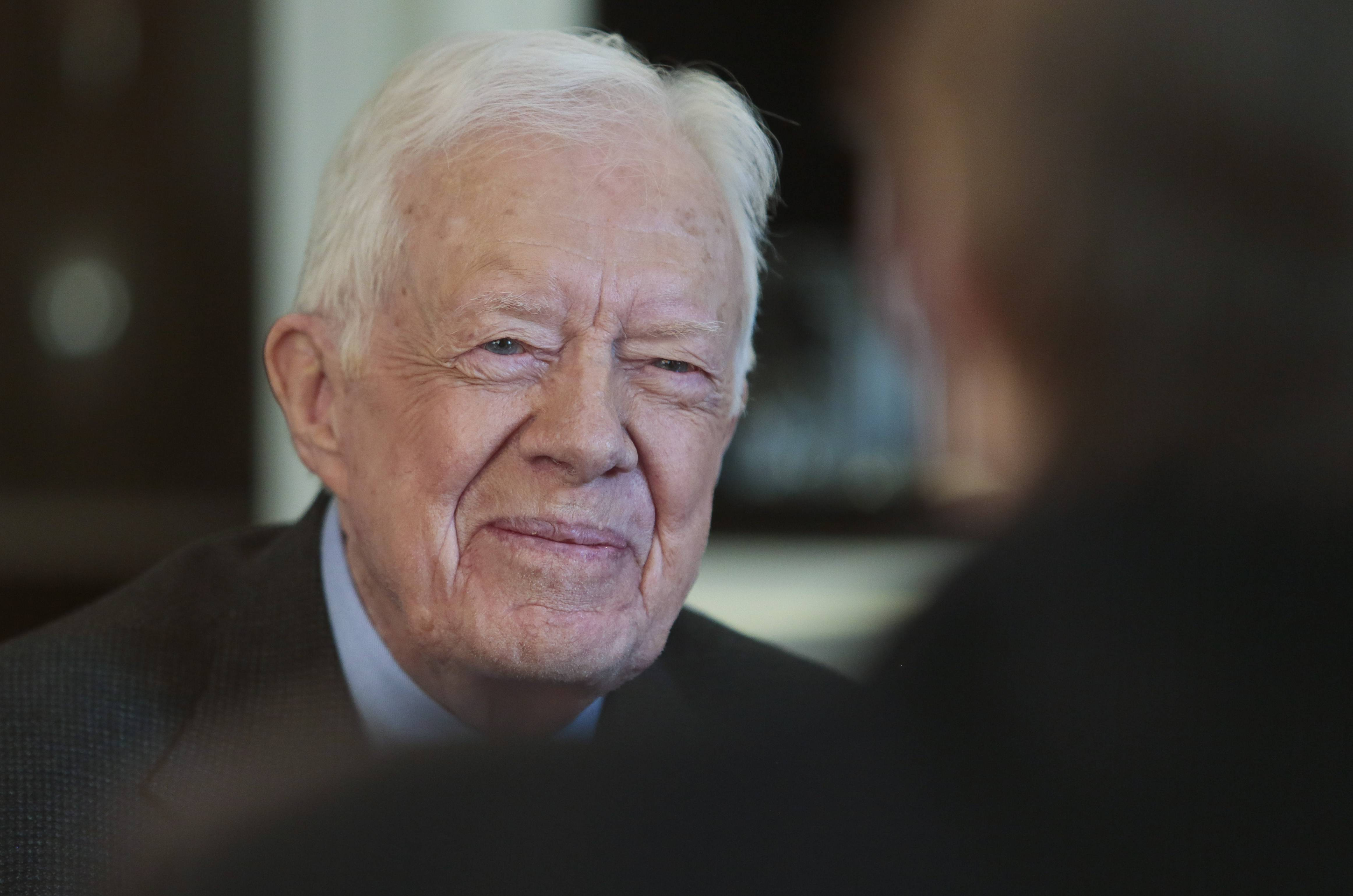 Former President Jimmy Carter said he prefers the mail more than electronic messaging because it's less likely the NSA will be monitoring what he wrote.