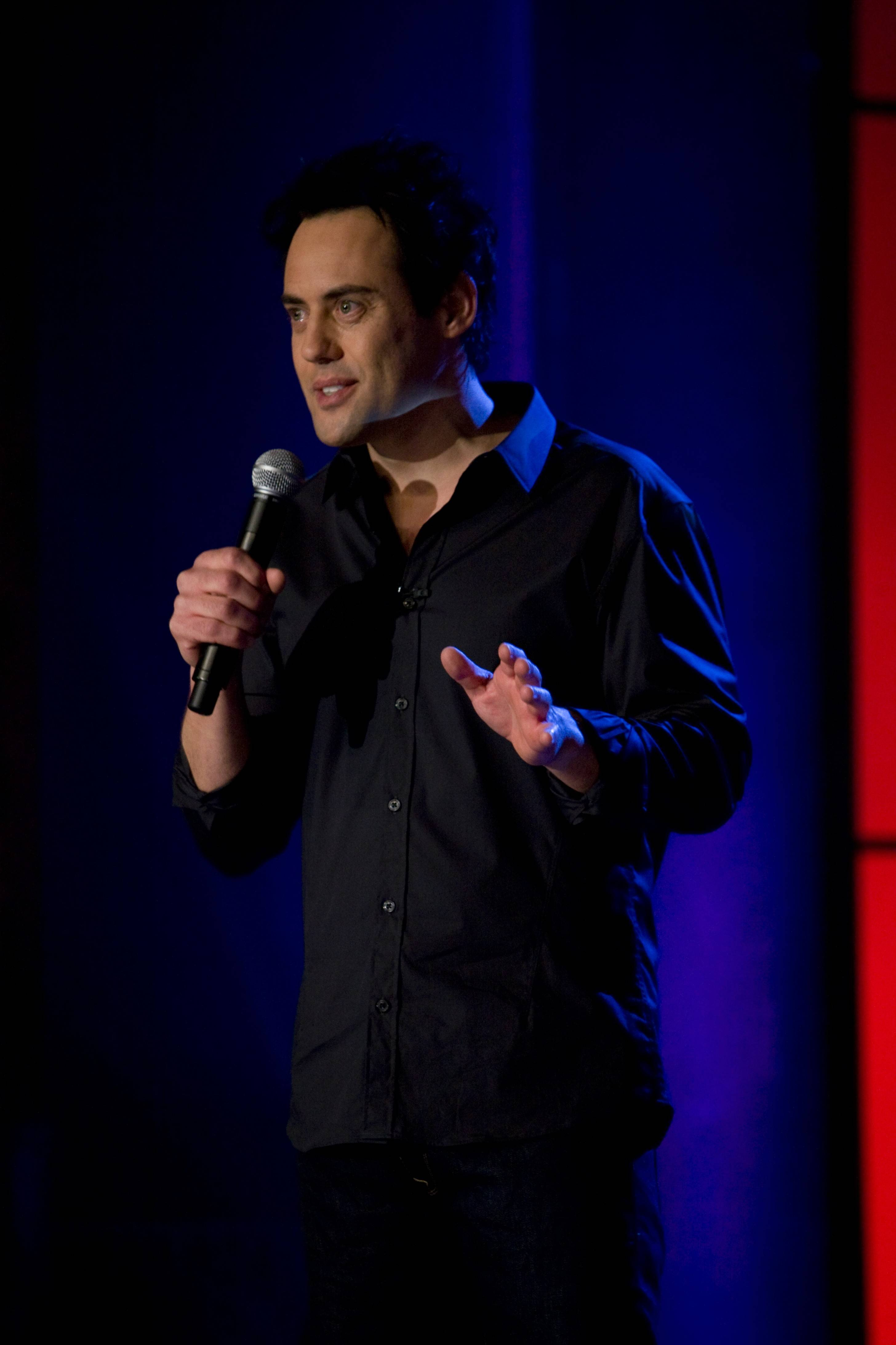 Comedian Orny Adams performs at the Improv Comedy Showcase in Schaumburg.
