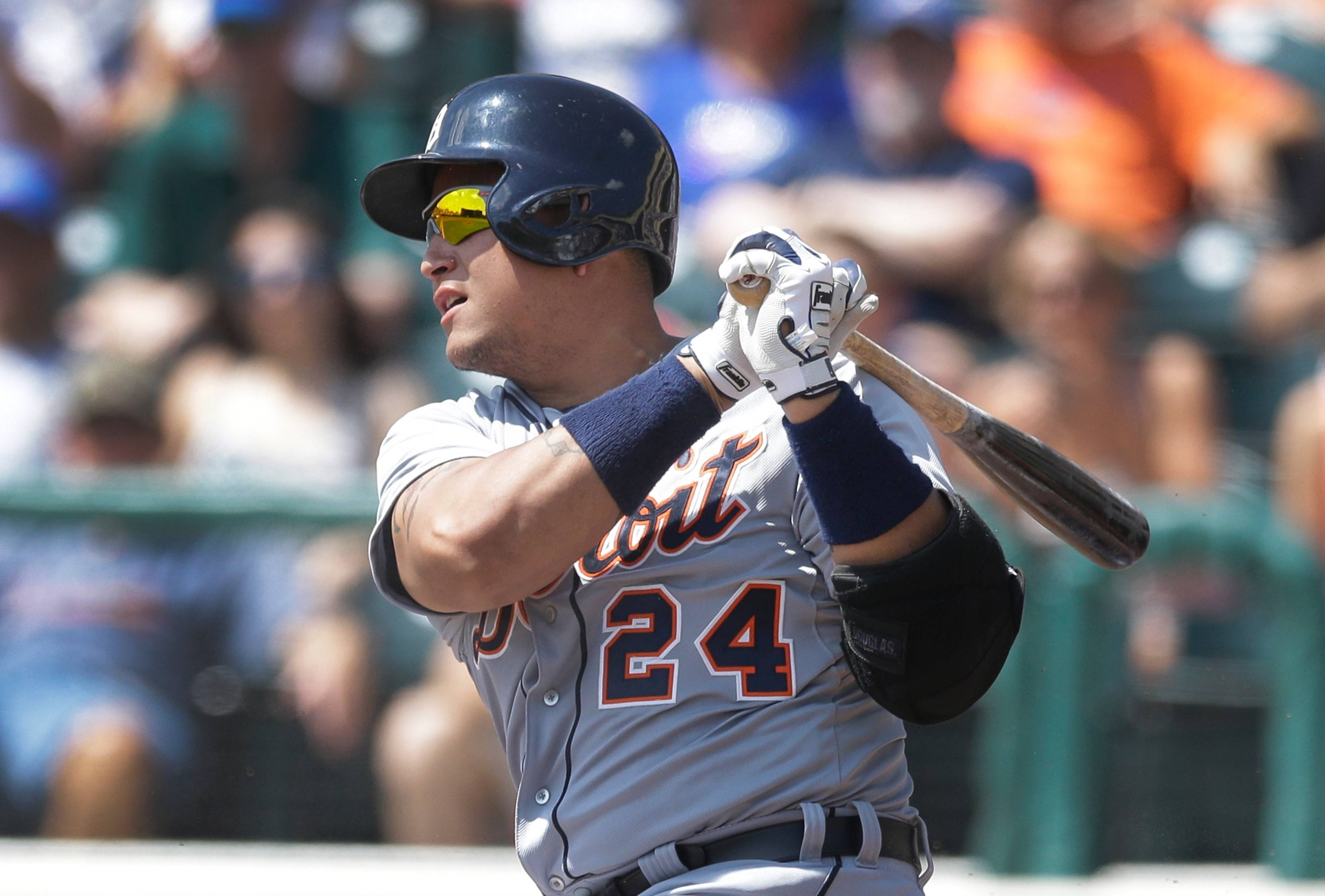 Tigers slugger Miguel Cabrera proved that old-time stats still draw big-time attention ... when you win a Triple Crown, as AL MVP Cabrera did in 2012.