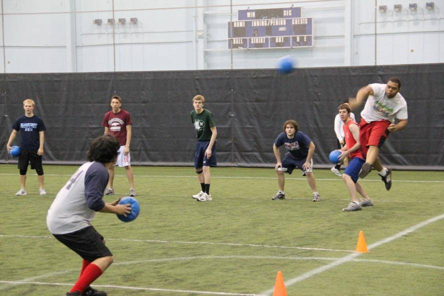 The Adult Spring Tune-Up Dodgeball Tournament is being held March 29. For information, visit parkfun.com.