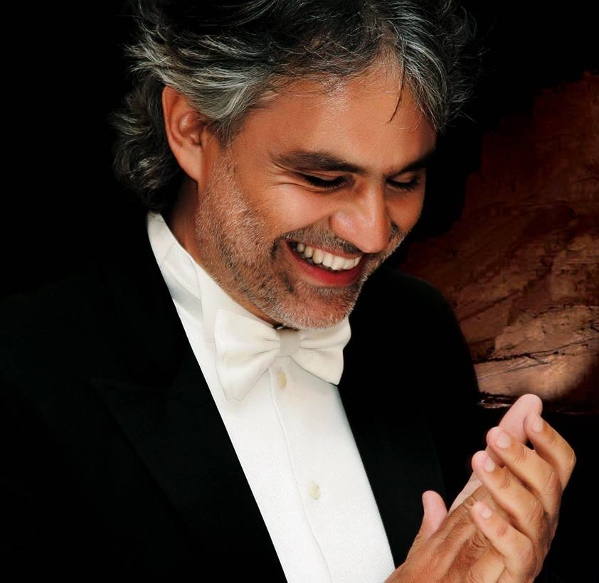 Renowned opera tenor Andrea Bocelli will perform Dec. 13 at the Allstate Arena in Rosemont.