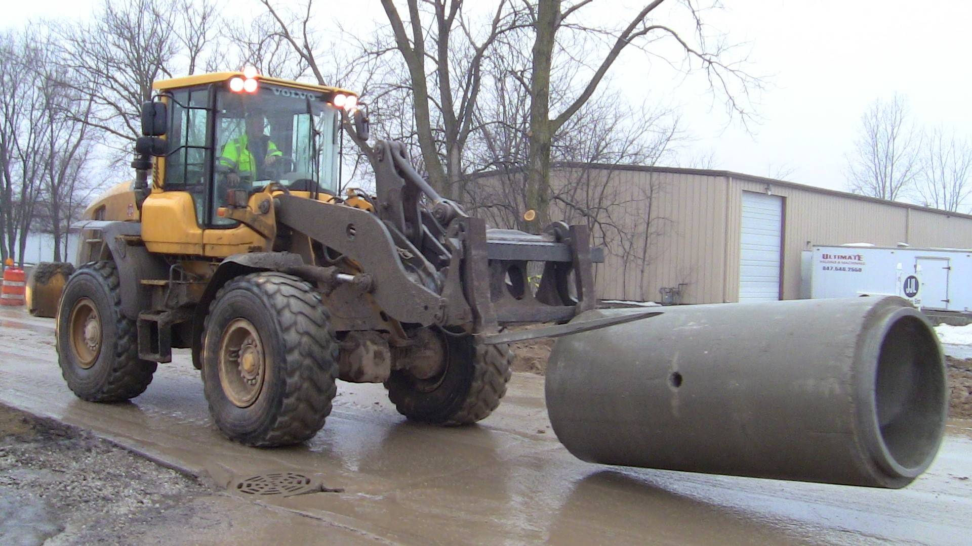 New storm sewers are being installed as part of $4.7 million in work at Hart Road and Sunset Drive in Round Lake. Officials say it's the village's single-largest infrastructure improvement project.