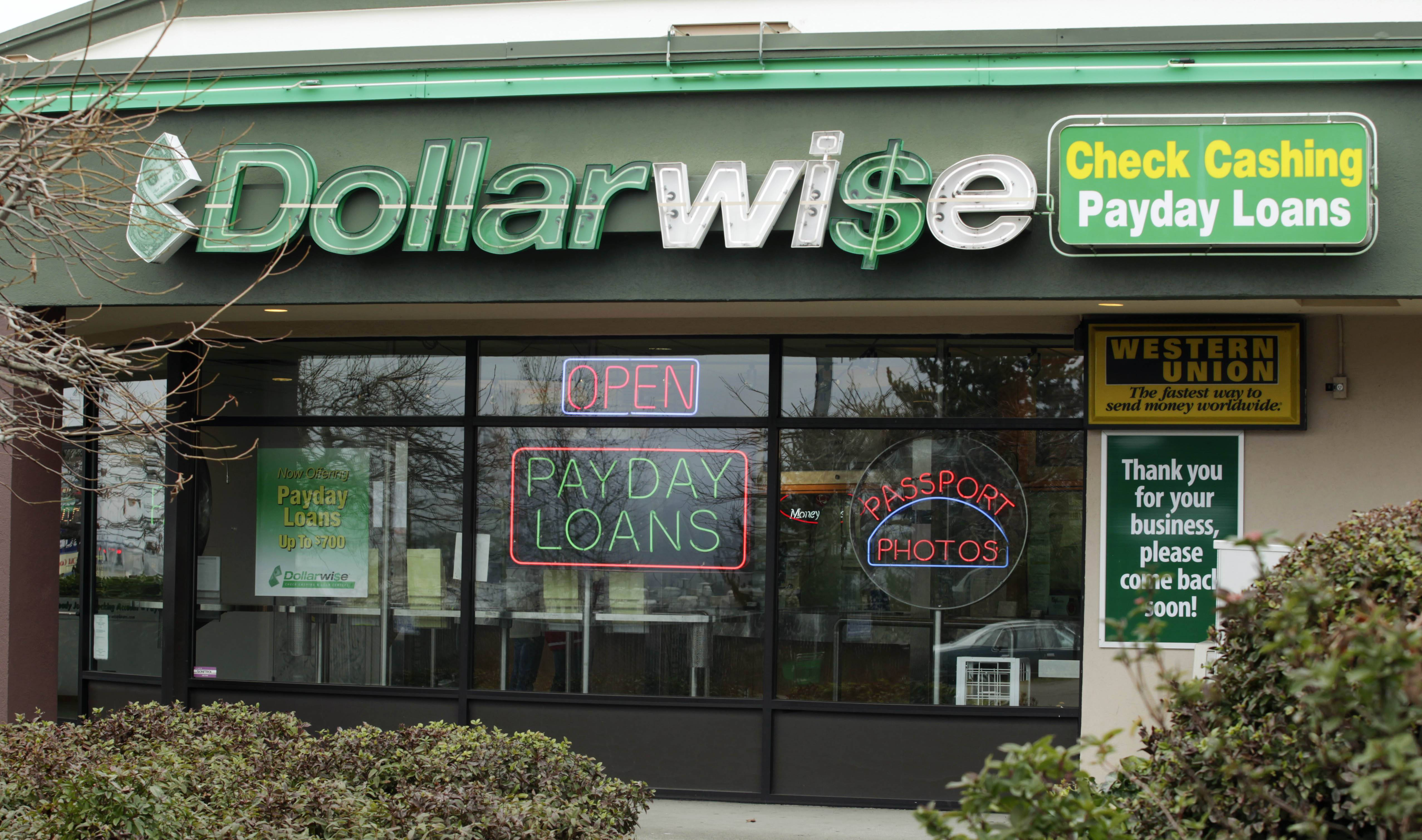 About half of all payday loans are made to people who extend the loans so many times they end up paying more in fees than the original amount they borrowed, a report by a federal watchdog has found.
