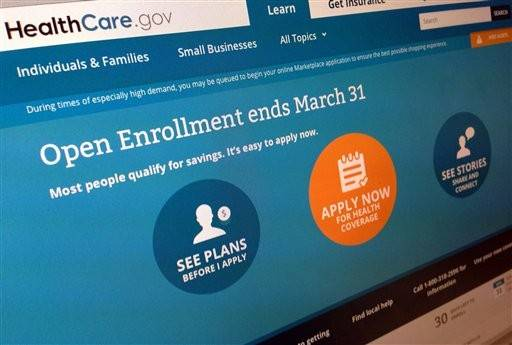 People who've started applying for health insurance but aren't able to finish before the March 31 enrollment deadline will get extra time, the Obama administration has announced.