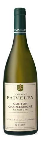 Corton Charlemagne, Grand Cru is made from 100 percent Chardonnay in Burgundy, France