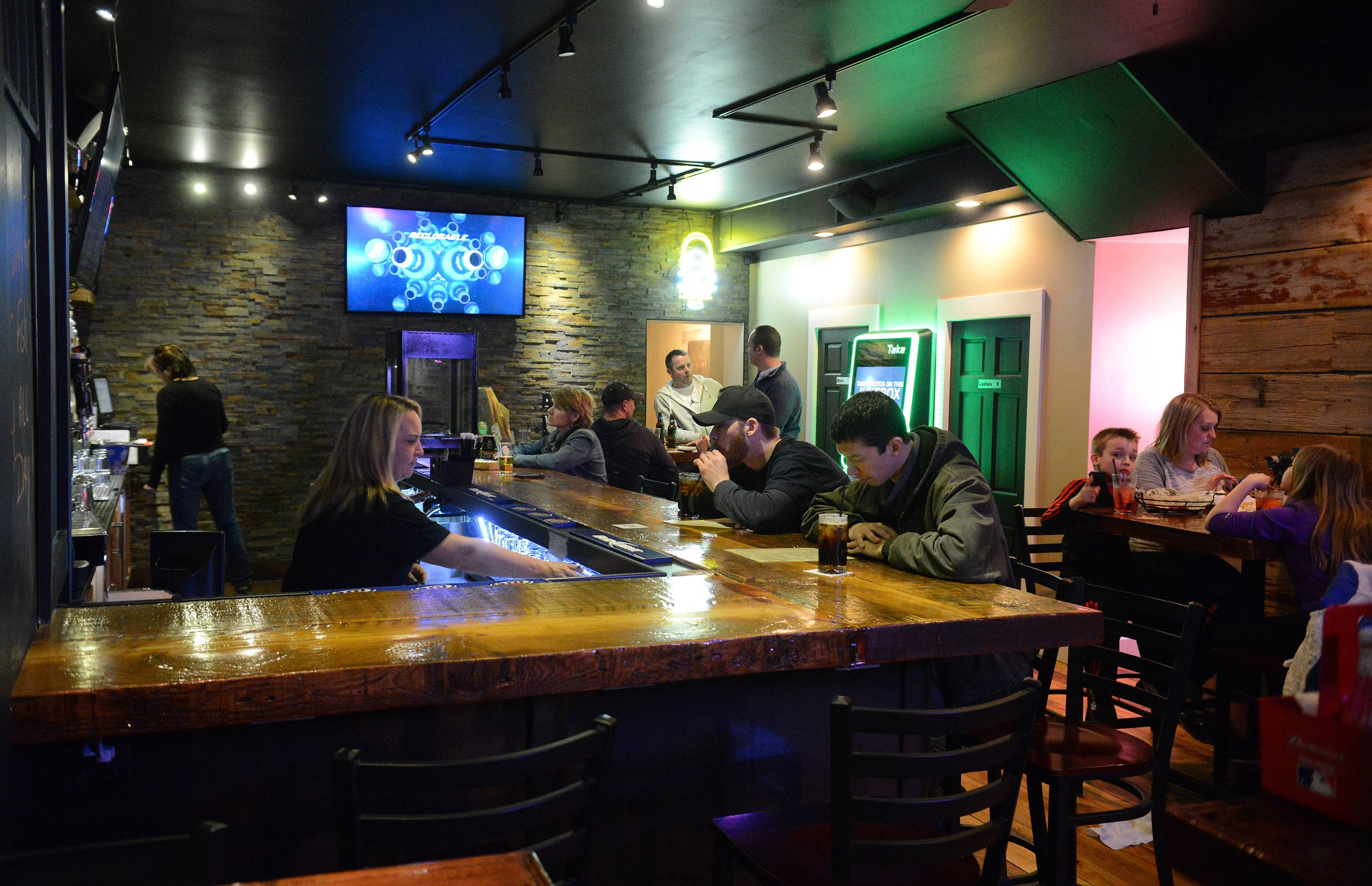 Eddie Gaedel Pub and Grill in Elburn offers burgers as well as other sandwiches, salads and starters.