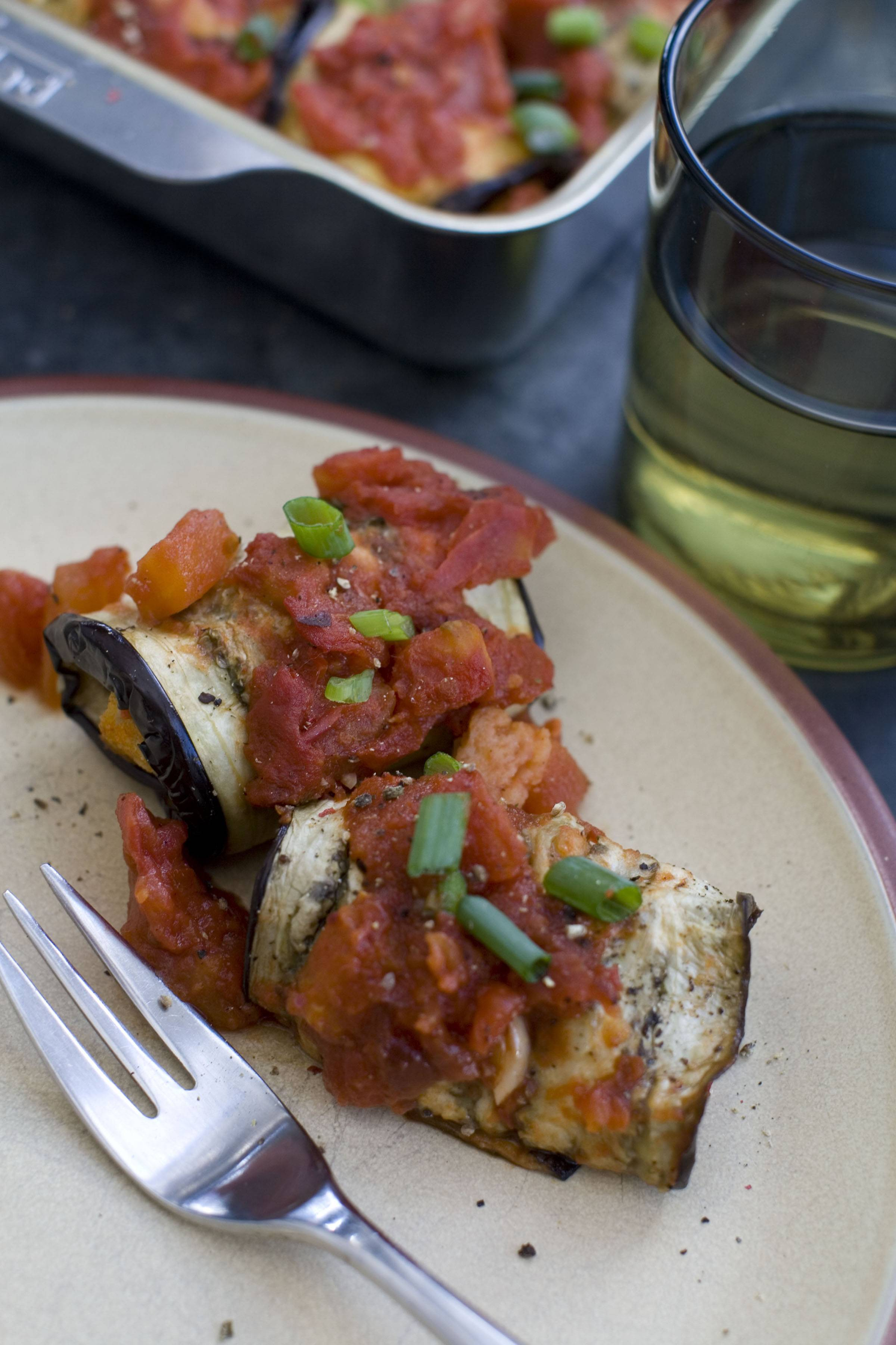 Sara Moulton's Speedy Marinara Sauce pairs well with Inside Out Eggplant Parmesan or your favorite pasta.