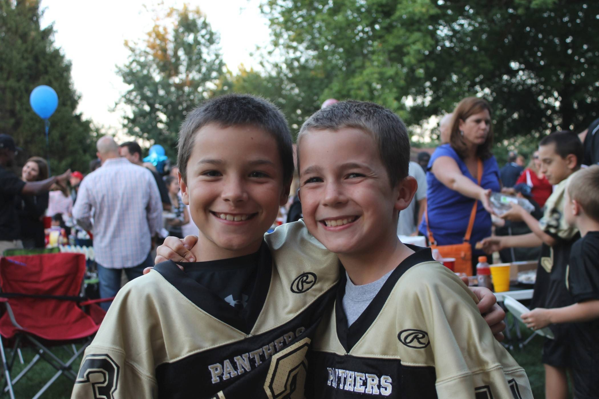 PAFA players enjoy festivities in the park with family and friends. Besides coaching and player development, camaraderie among the players and a wide variety of family events throughout the season sets the PAFA program apart from others.