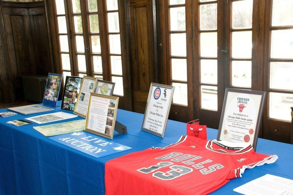 A live auction and raffles will also be held at OHU's Blue Ribbon Event. Last year's auction included tickets to a Cubs vs. White Sox game and tickets to a home Bulls game that came with an autographed jersey.