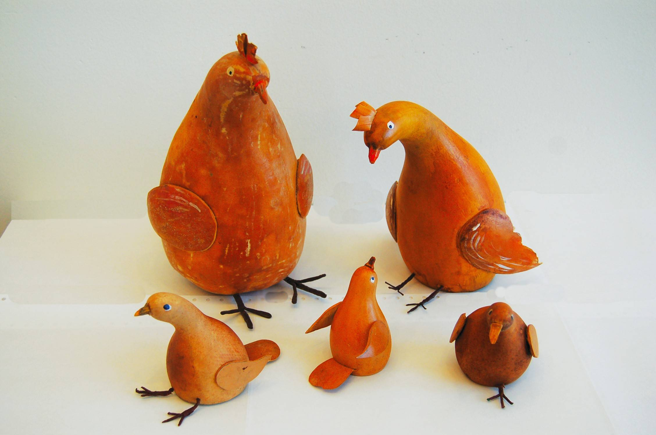 "Join an opening reception of the traveling exhibit, ""Gourds: The Creations and Collections of Virginia Umberger,"" at 2 p.m. Saturday, March 29, at the Elgin Public Museum."