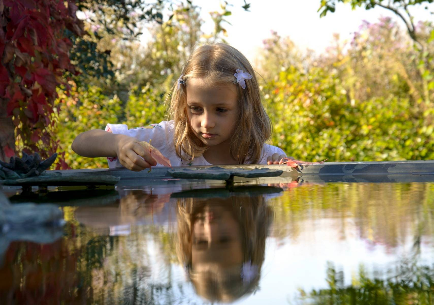 "Joanna Jagielska's ""Splashing in the water at Independence Grove"" won third prize in Visit Lake County's photo contest."