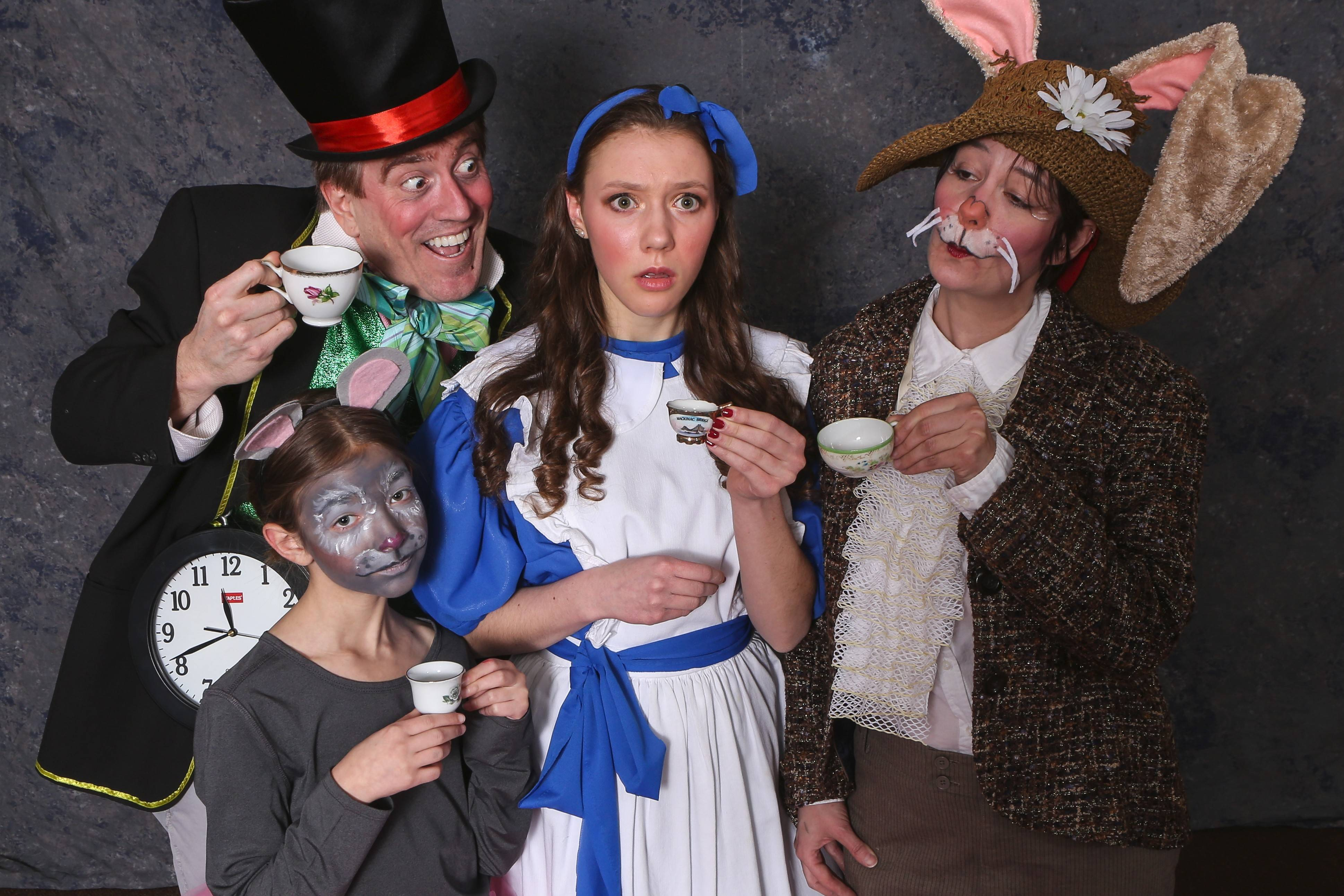 "The Kirk Players' spring show, ""Alice in Wonderland,"" will be presented at 7 p.m. Friday and Saturday, April 4 and 5, and 2 p.m. Saturday and Sunday, April 5 and 6, at Mundelein High School Theatre."