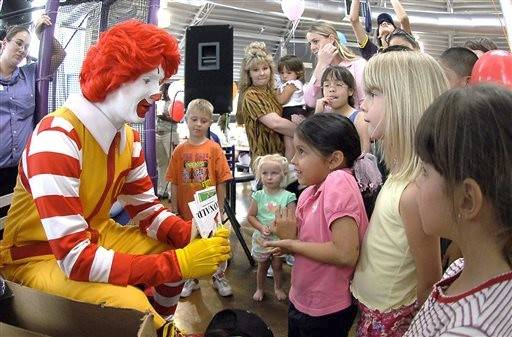 Since his debut in 1963, the smiling clown has helped give McDonald's a huge advantage among kids.