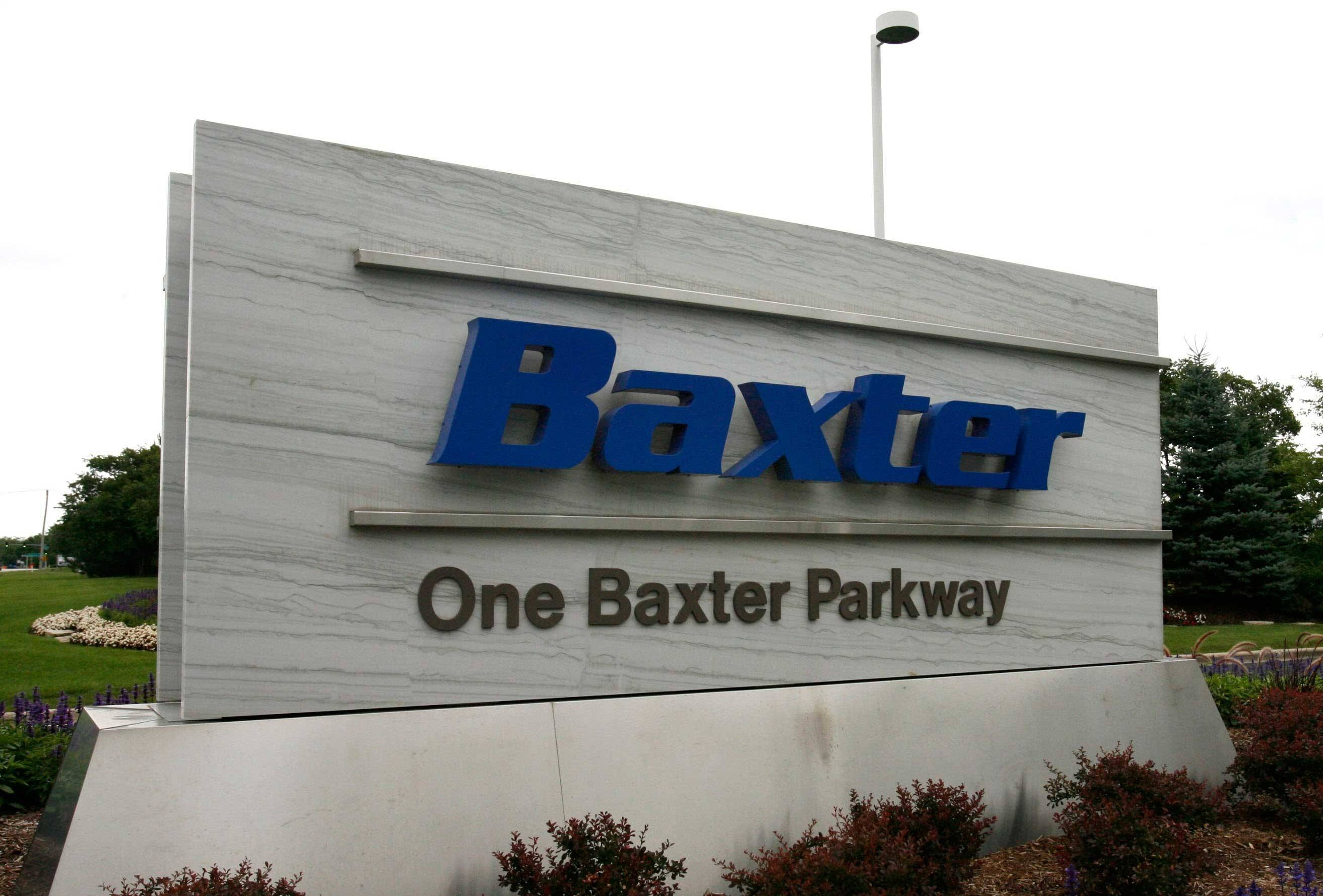 Deerfield-based Baxter International Inc. is splitting itself into two separate businesses -- one focusing on biopharmaceuticals and the other on other medical products.