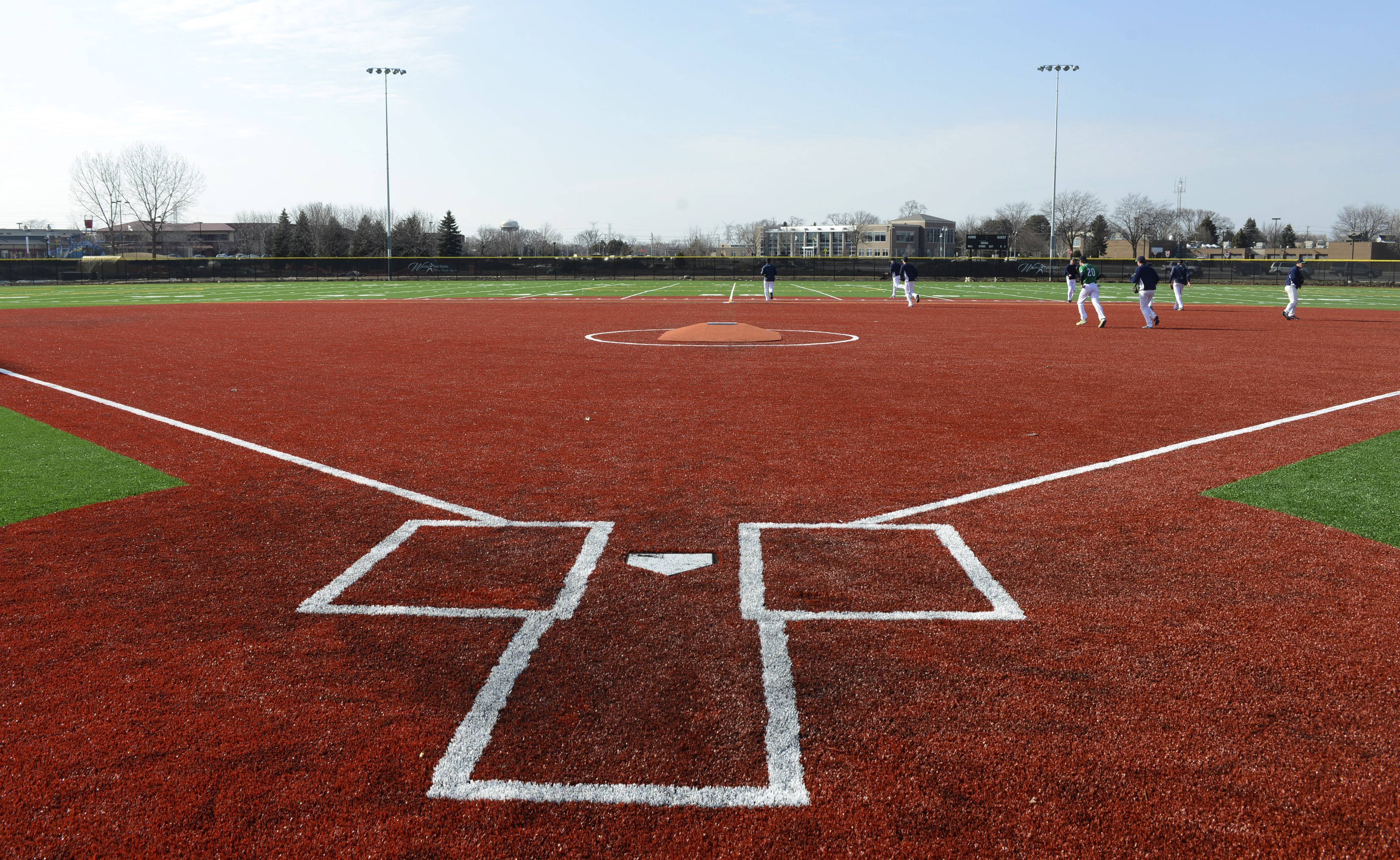 The Wheeling Park District has opened its new athletic complex at the renovated Heritage Park. The complex, part of a $38 million park overhaul, features four athletic fields with artificial turf for baseball, softball, soccer and football.