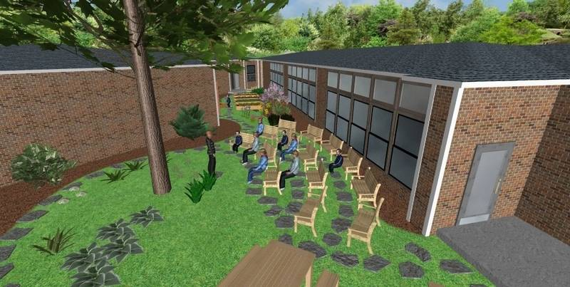 Wheaton school to enhance its courtyard with plants
