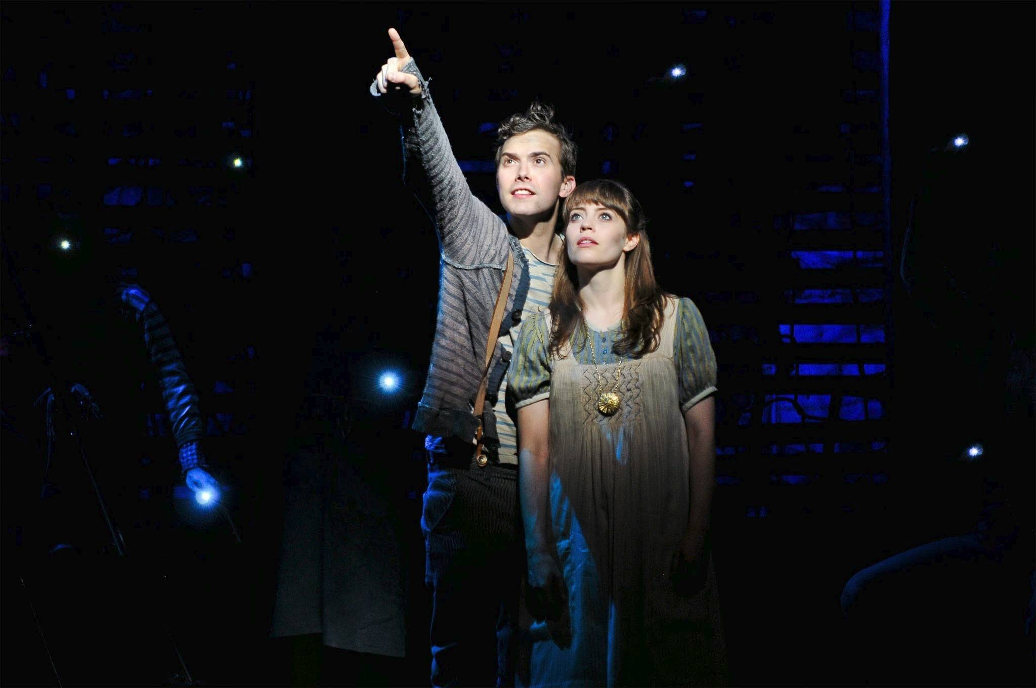"Joey deBettencourt and Megan Stern star in the national tour of ""Peter and the Starcatcher,"" which plays Chicago's Bank of America Theatre from Wednesday, April 2, through Sunday, April 13."