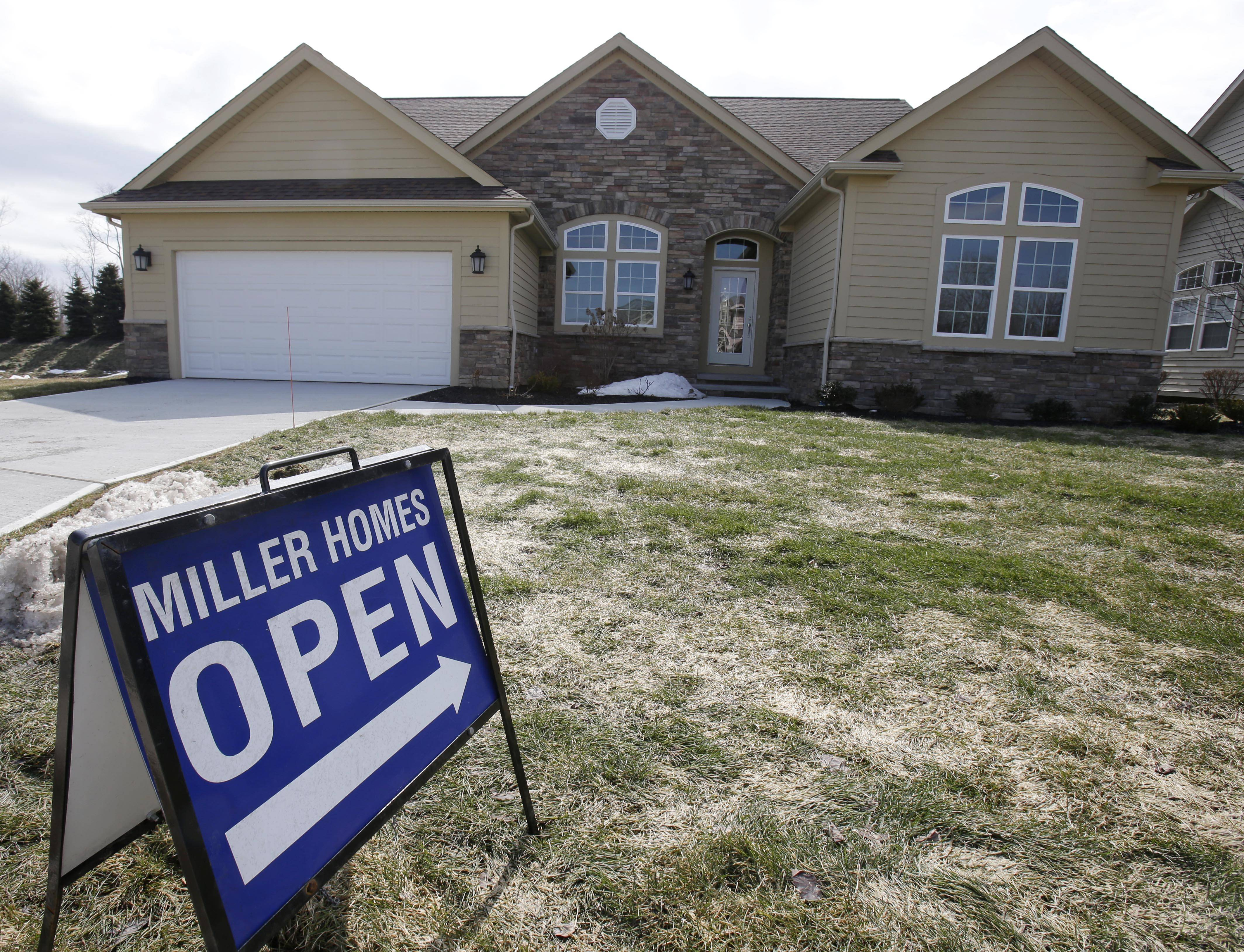 U.S. mortgage rates for 30-year loans rose to a two-month high, increasing borrowing costs for homebuyers as the market's recovery showed signs of weakening.