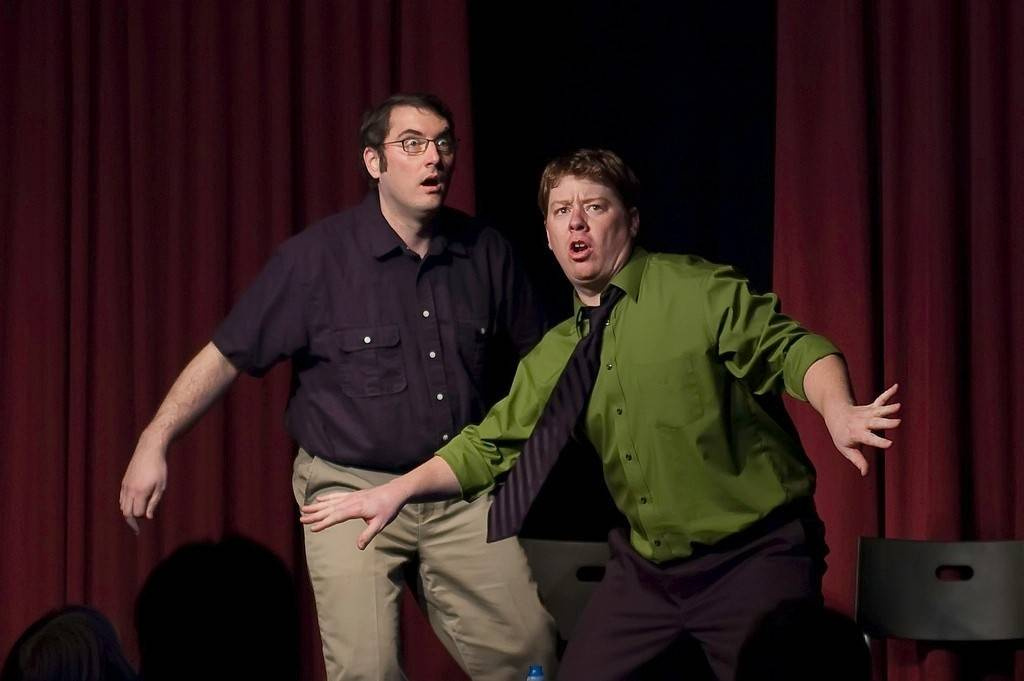 Chris Day and Joey Cranford are ensemble members of Laugh Out Loud Theater. The Schaumburg-based comedy troupe is part of the 17th annual Chicago Improv Festival.