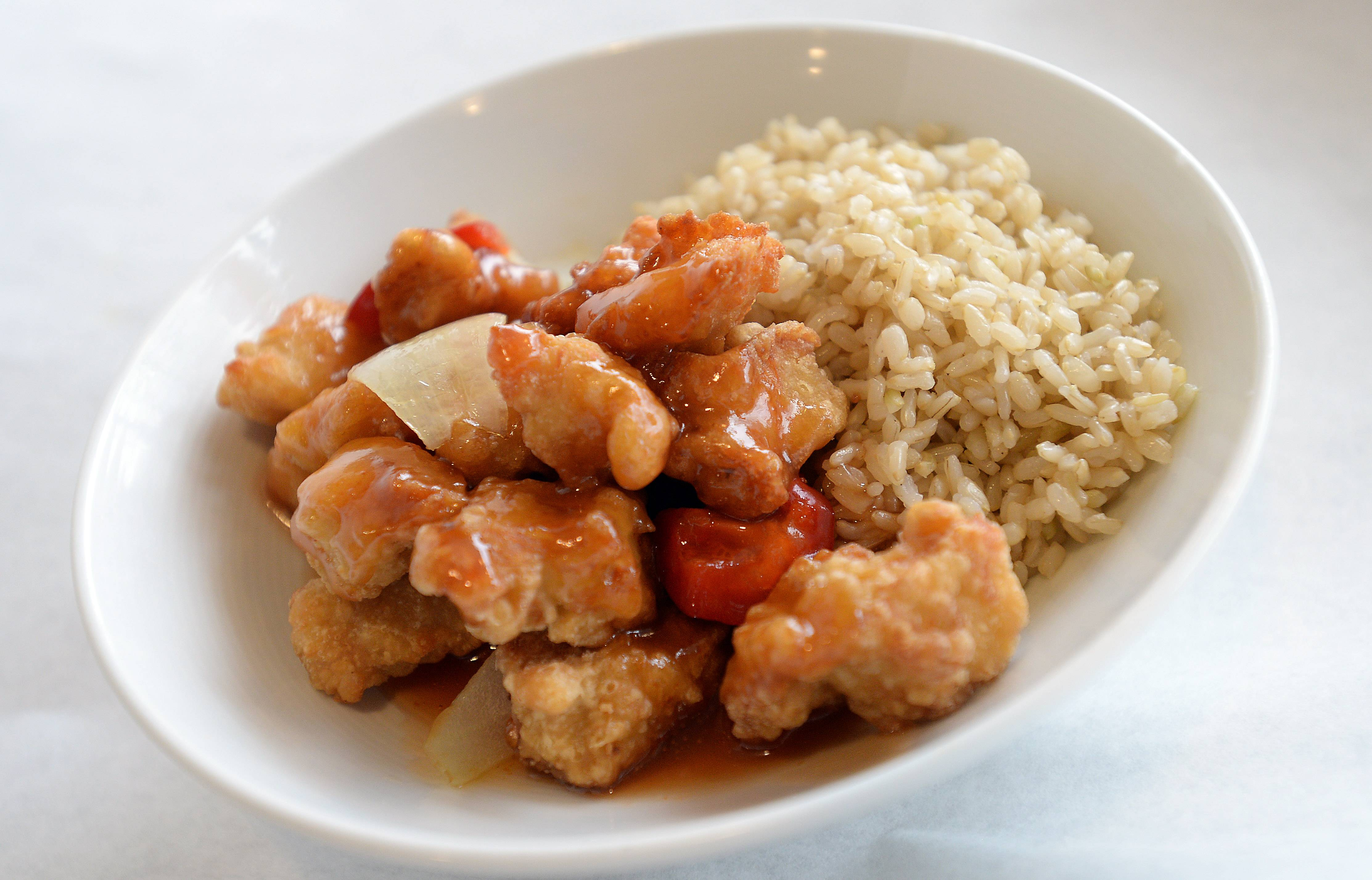 Bistro Chen's sweet and sour chicken even comes in a gluten-free version.