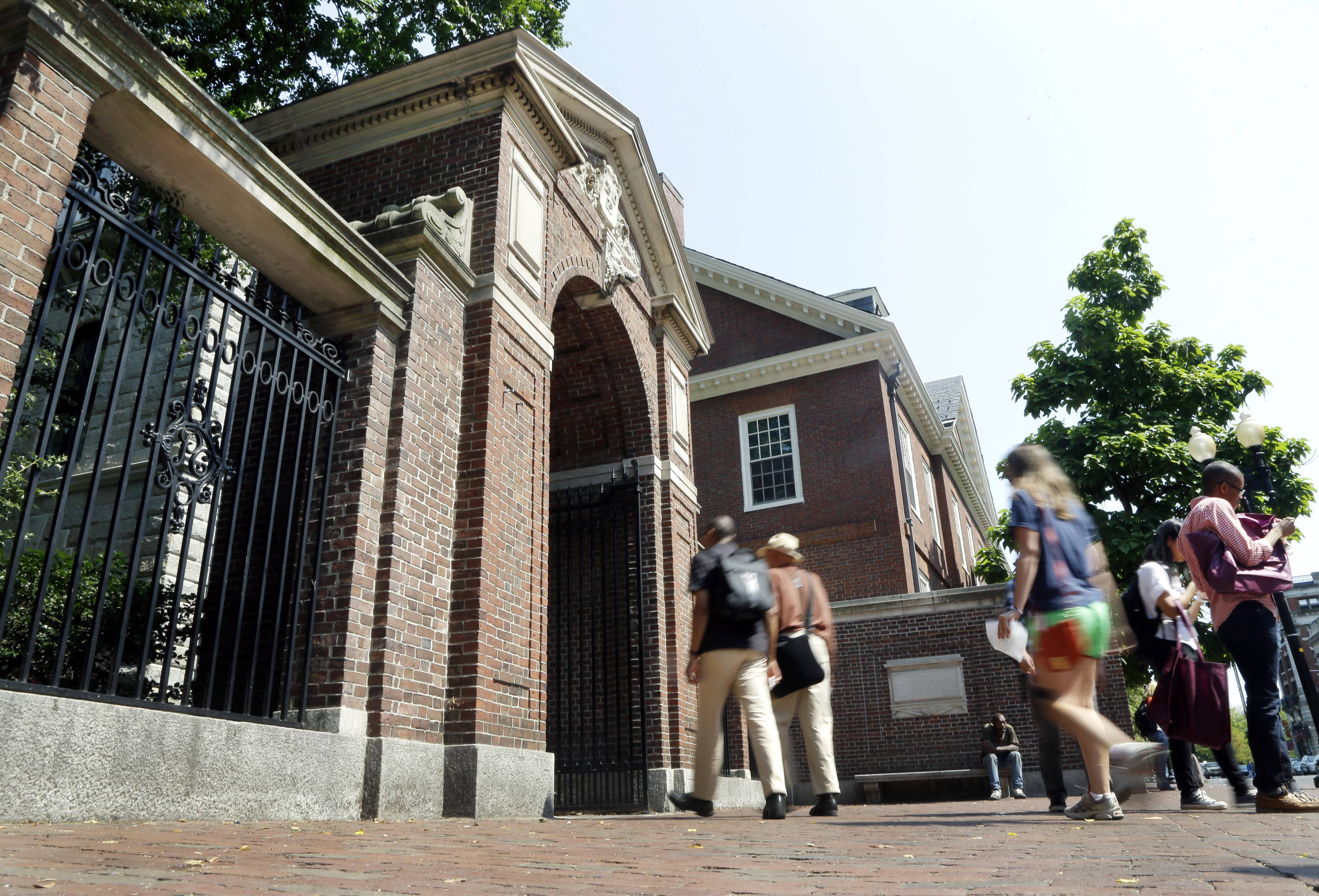 Harvard University in Cambridge, Mass., is the country's first institution of higher education, dating back to 1636.
