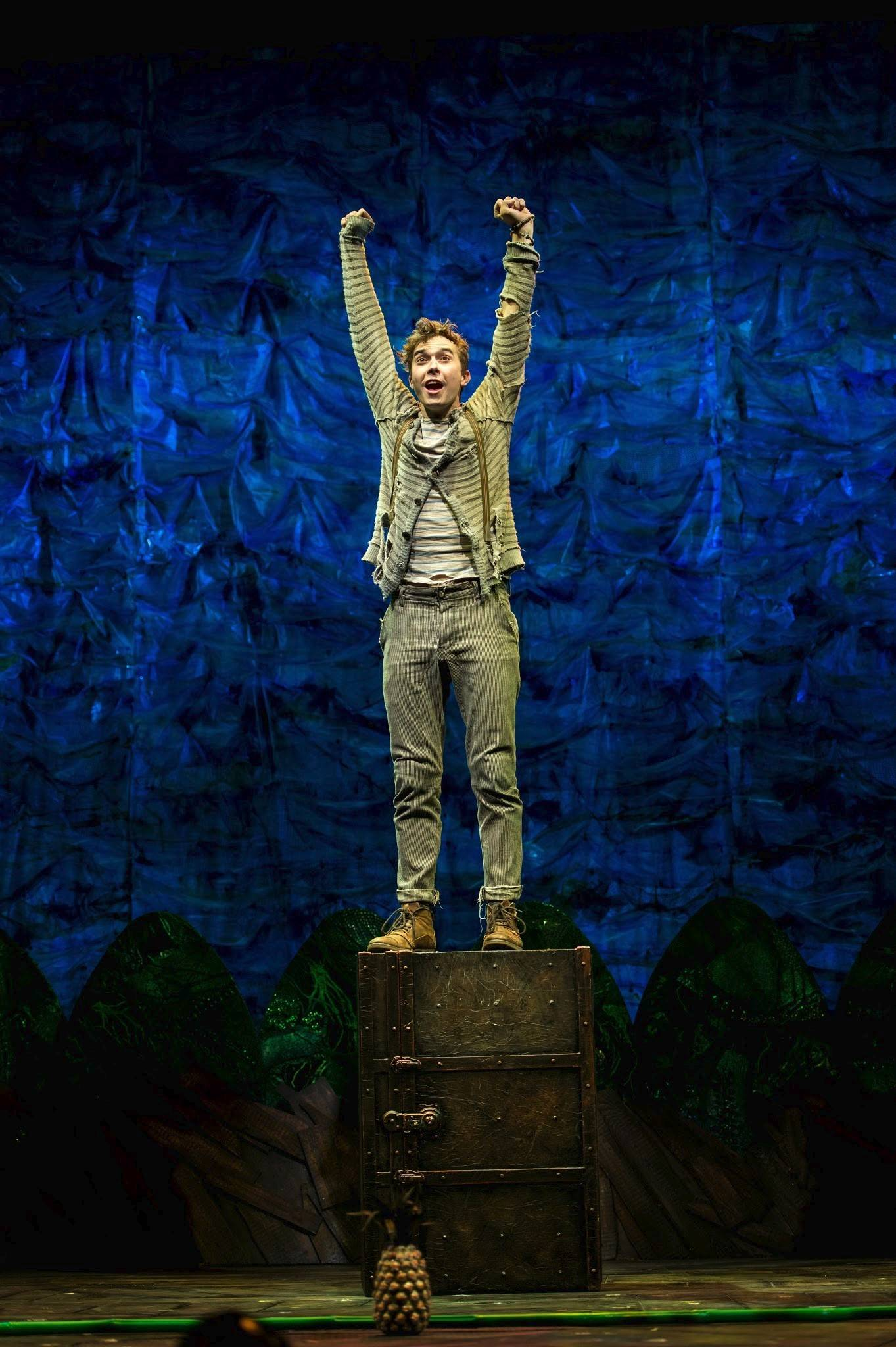"Skokie native Joey deBettencourt stars in the national tour of ""Peter and the Starcatcher,"" which plays Chicago's Bank of America Theatre from Wednesday, April 2, through Sunday, April 13."