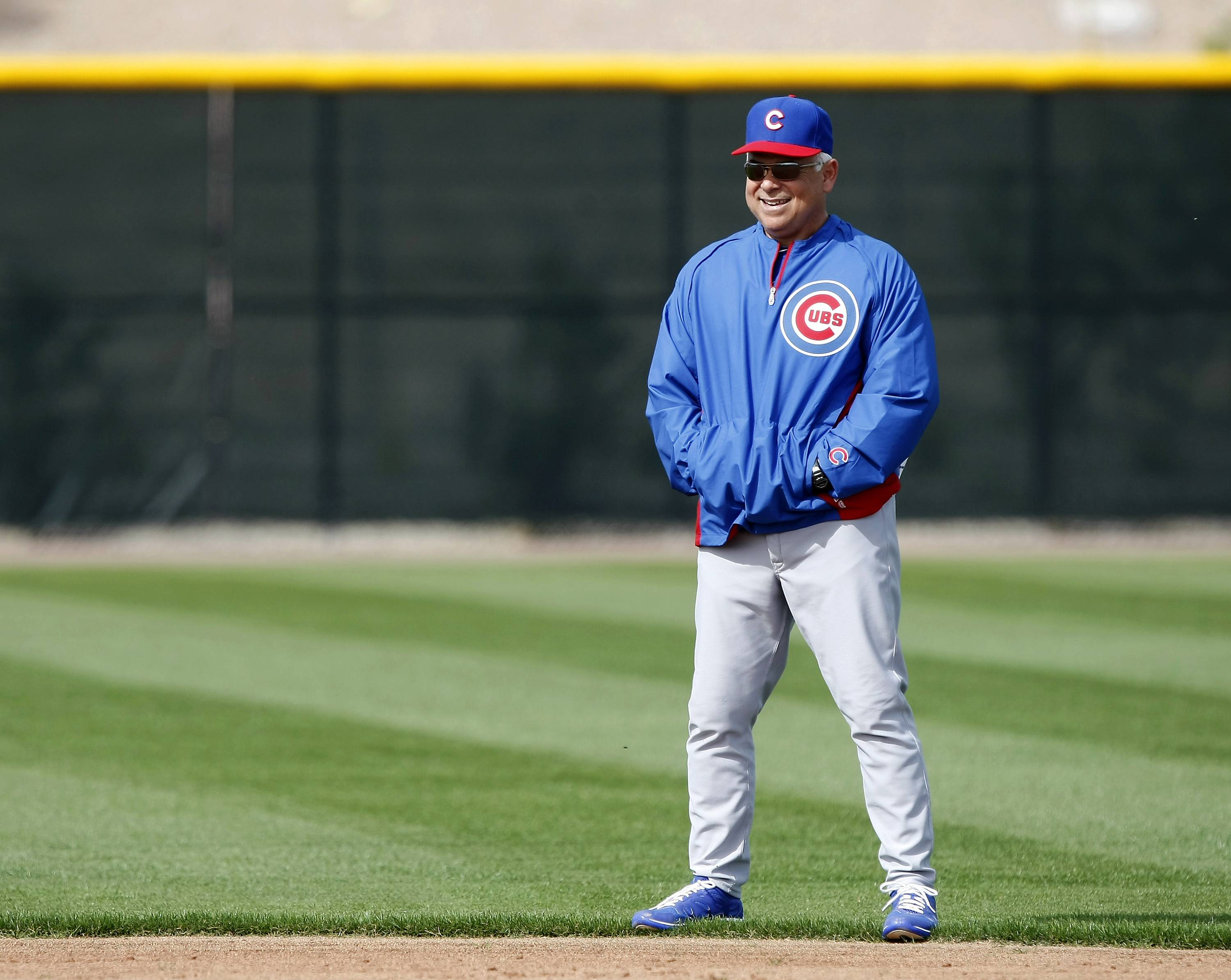 Cubs' Renteria upbeat ... and thankful