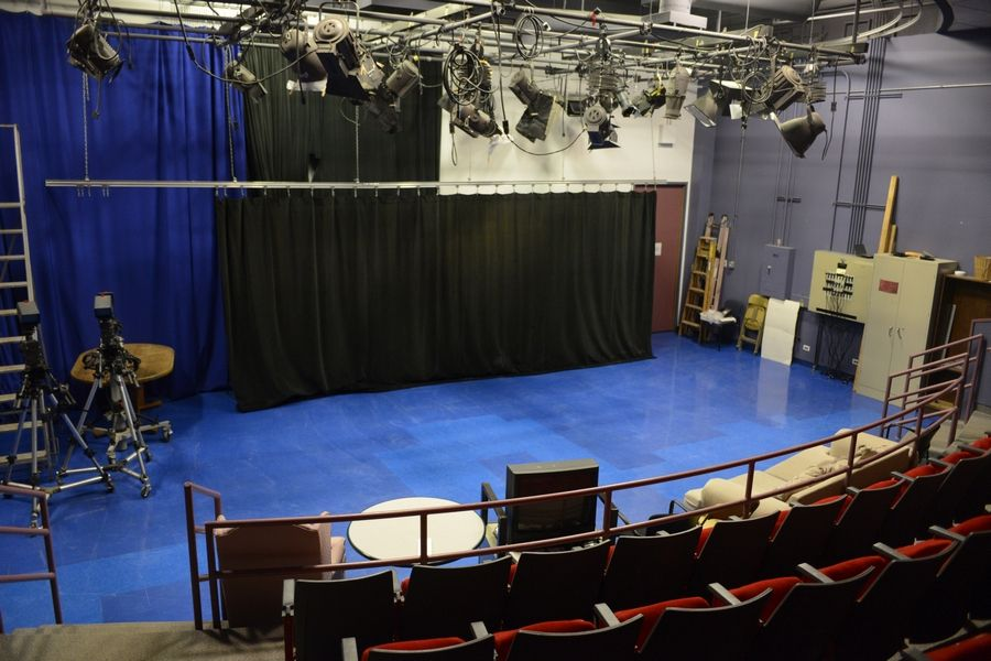 Interior view of the Comcast studio in Mount Prospect. Comcast will close its public access studio in Skokie on April 1 and move production to the Mount Prospect studio.