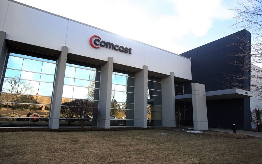 Comcast offices in Waukegan.