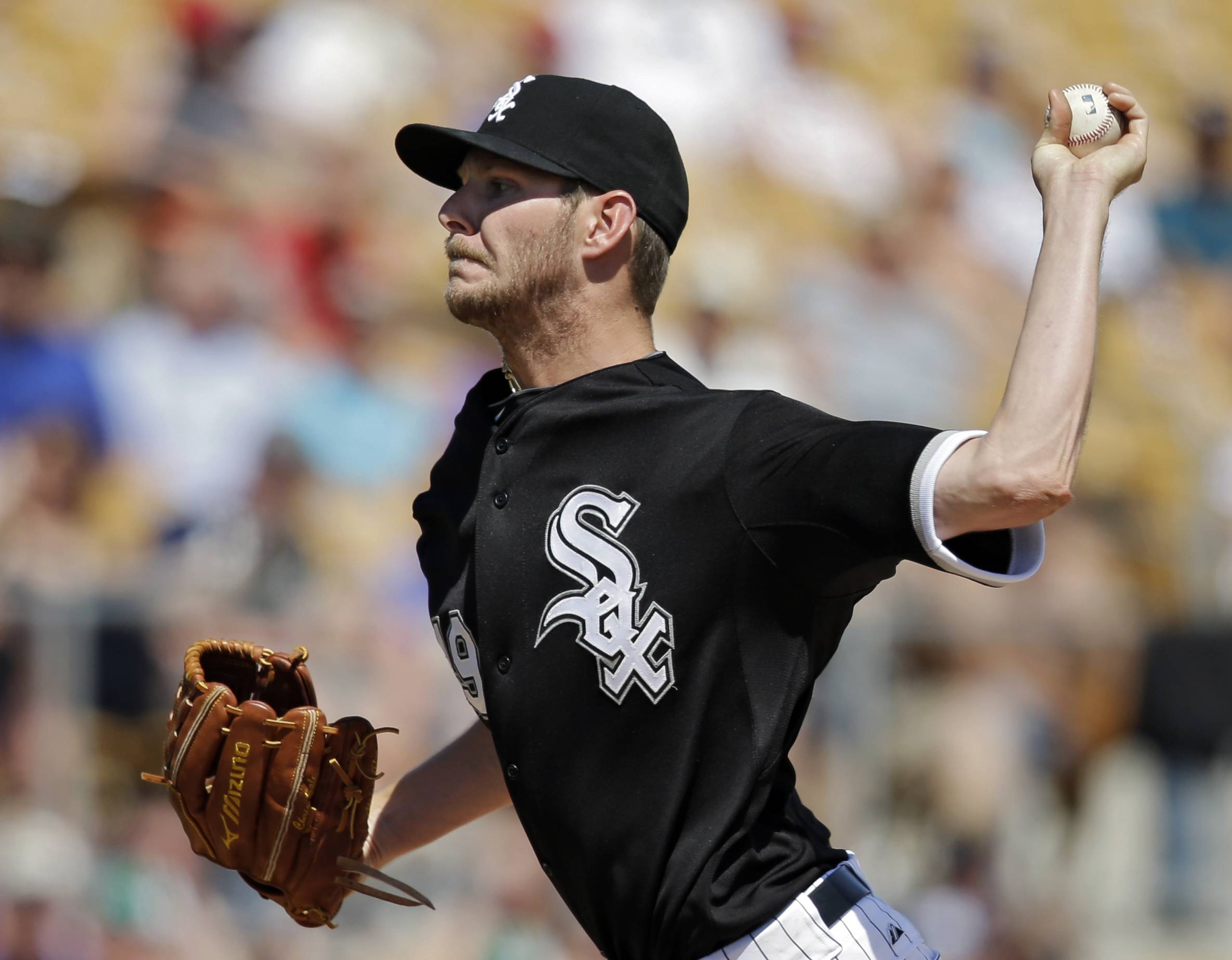 Chris Sale will be on the mound for the White Sox on Monday when they open their season against the Twins at U.S. Cellular Field.