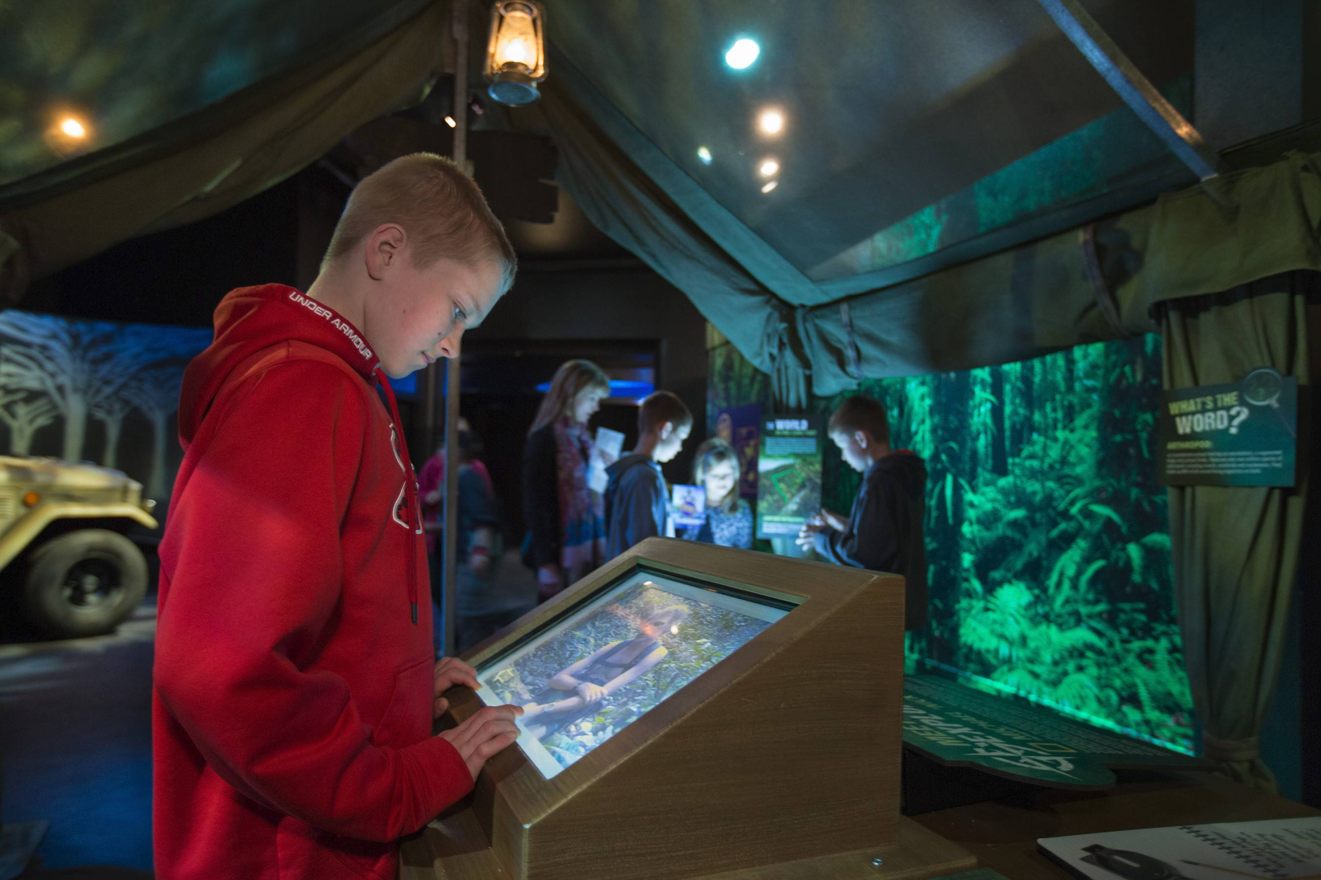 """National Geographic Presents: Earth Explorers"" at the Museum of Science and Industry includes a visit to the ""rain forest."""