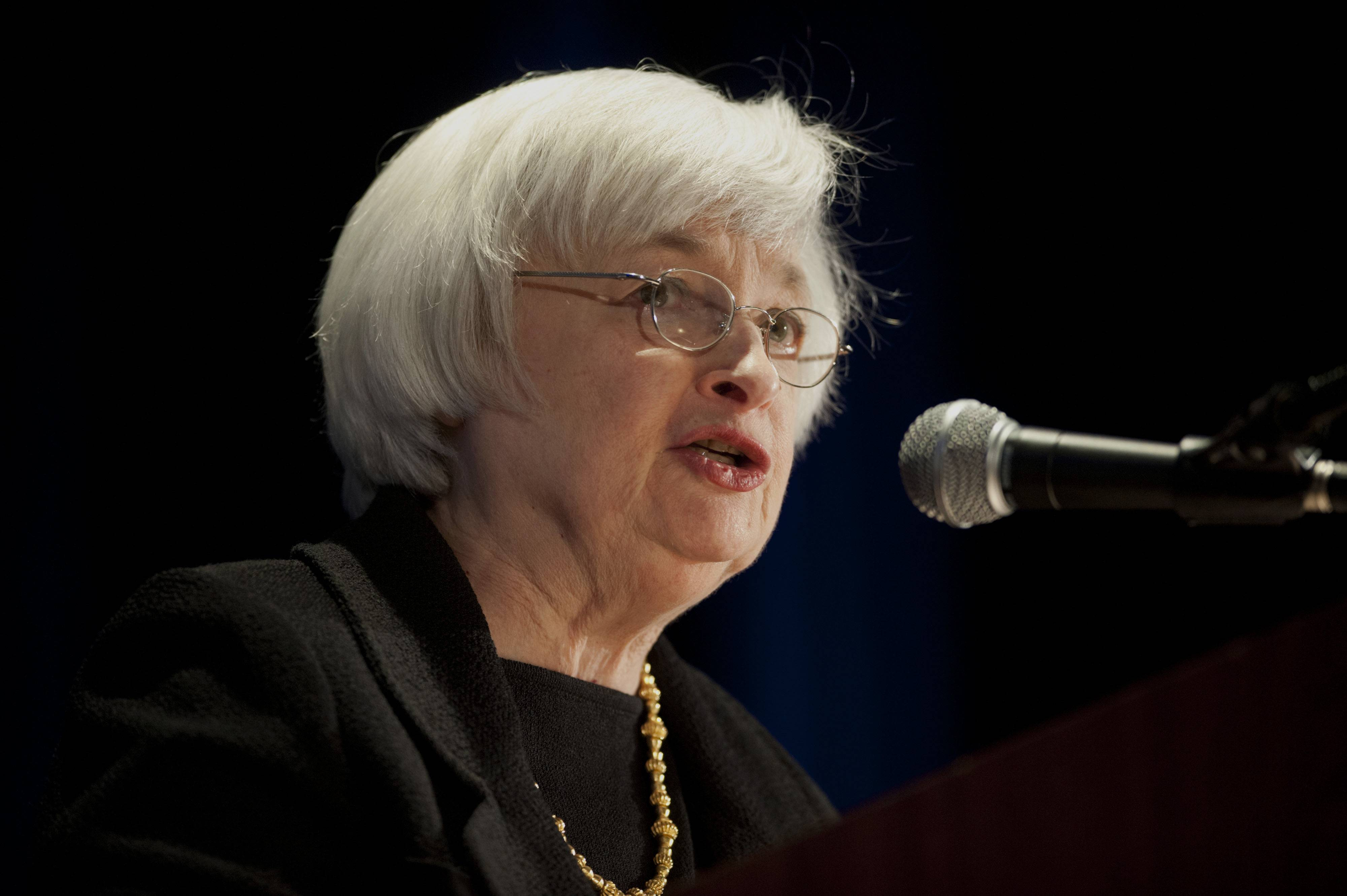 Janet Yellen, chair of the U.S. Federal Reserve, spoke at the 2014 National Interagency Community Reinvestment Conference (NICRC) in Chicago Monday.