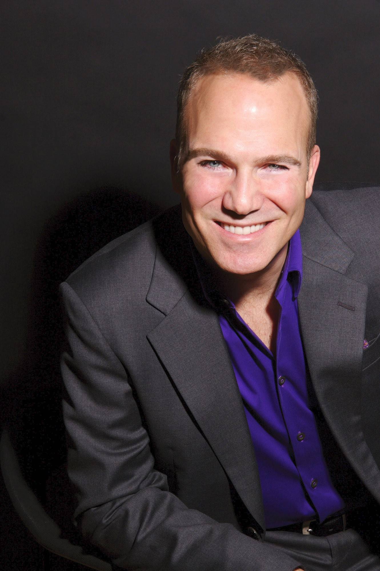 Crooner Franc D'Ambrosio sings Hollywood tunes at the Arcada Theatre in St. Charles on Friday, April 4.