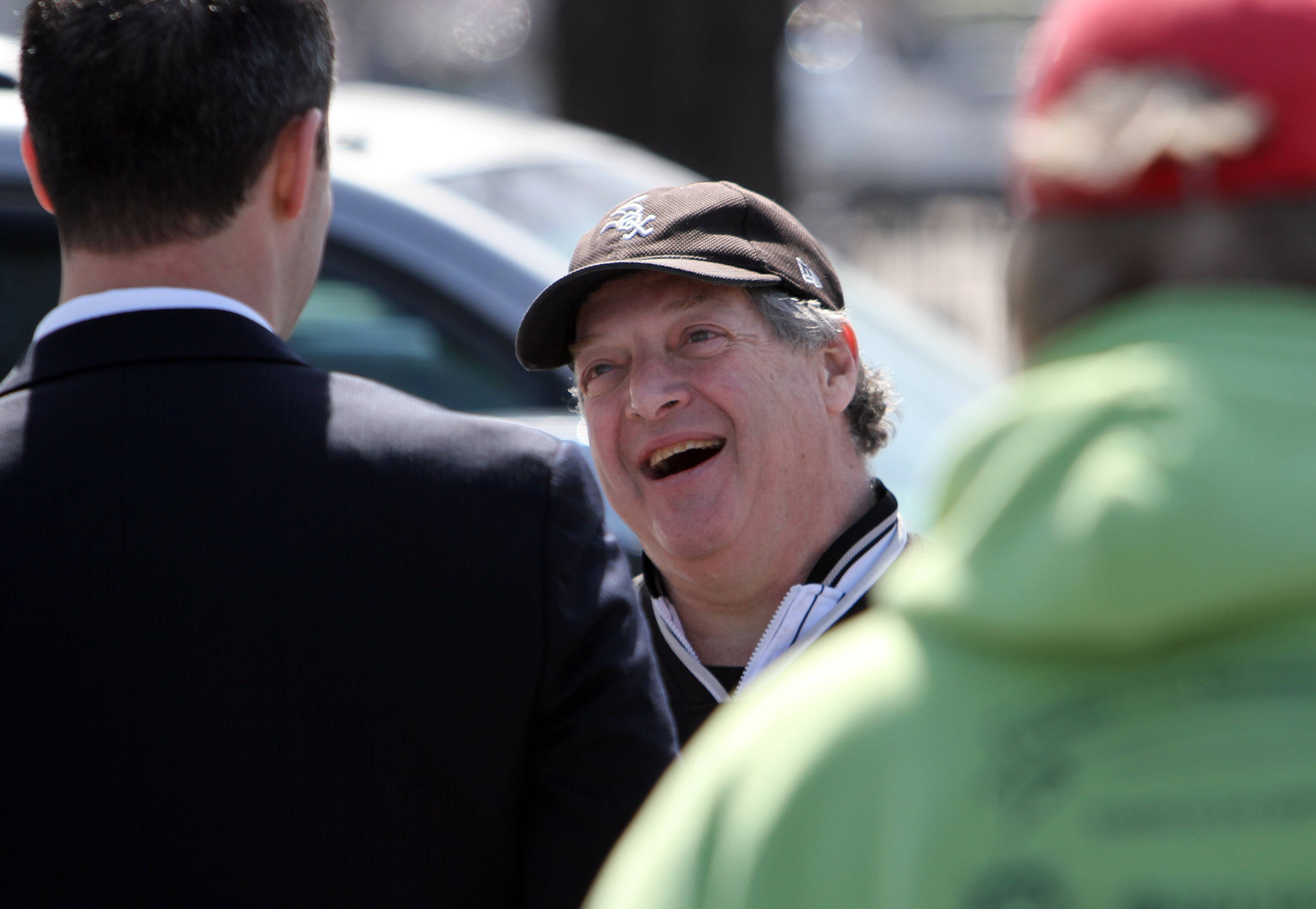 Howard Jaffe of Libertyville attends his 52nd consecutive White Sox home opener Monday at U.S. Cellular Field.