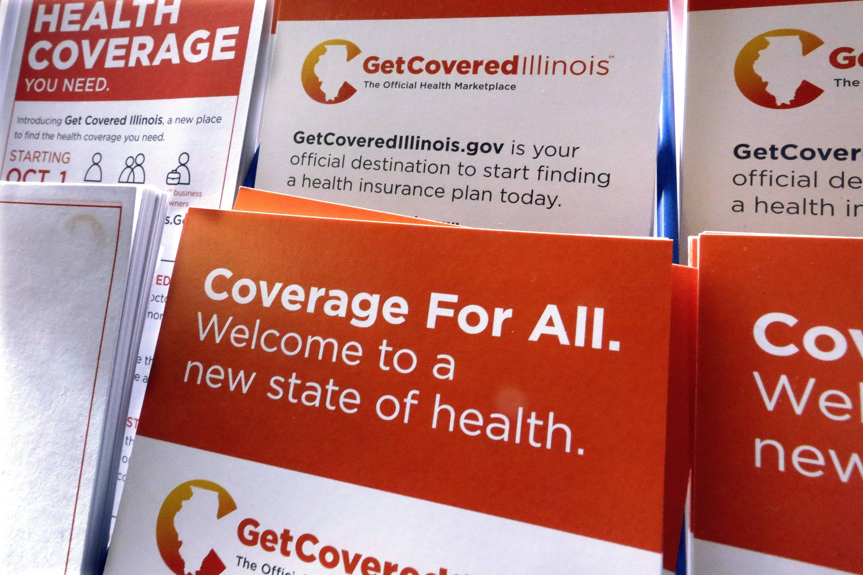 People who don't have health insurance have until midnight Monday to enroll or else they'll face federal tax penalties under the Affordable Care Act.