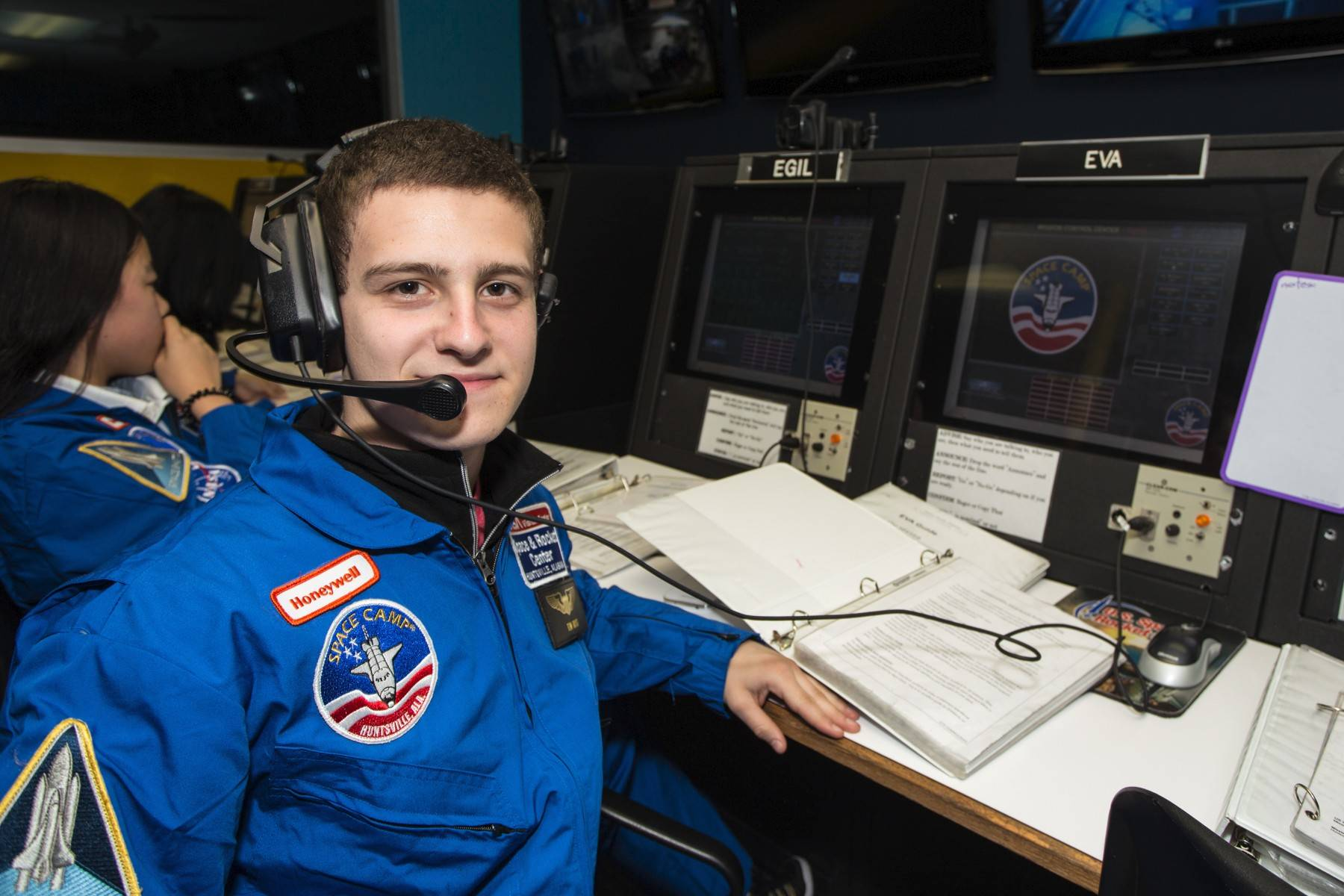 Thomas Rossi of Elburn is at the Honeywell Leadership Challenge Academy at the U.S. Space & Rocket Center in Huntsville, Ala.