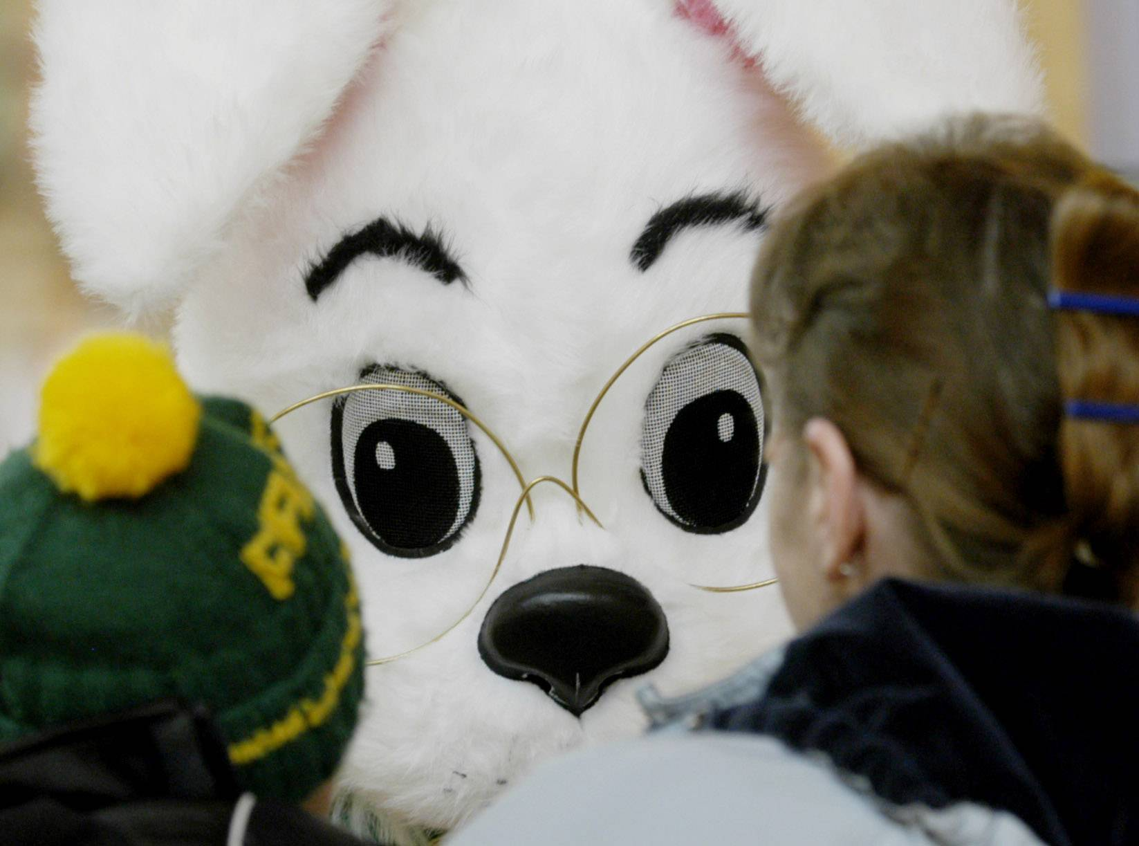 The Easter Bunny will be all eyes -- and ears -- when he visits Glendale Heights April 12 to kick off an Easter egg hunt.