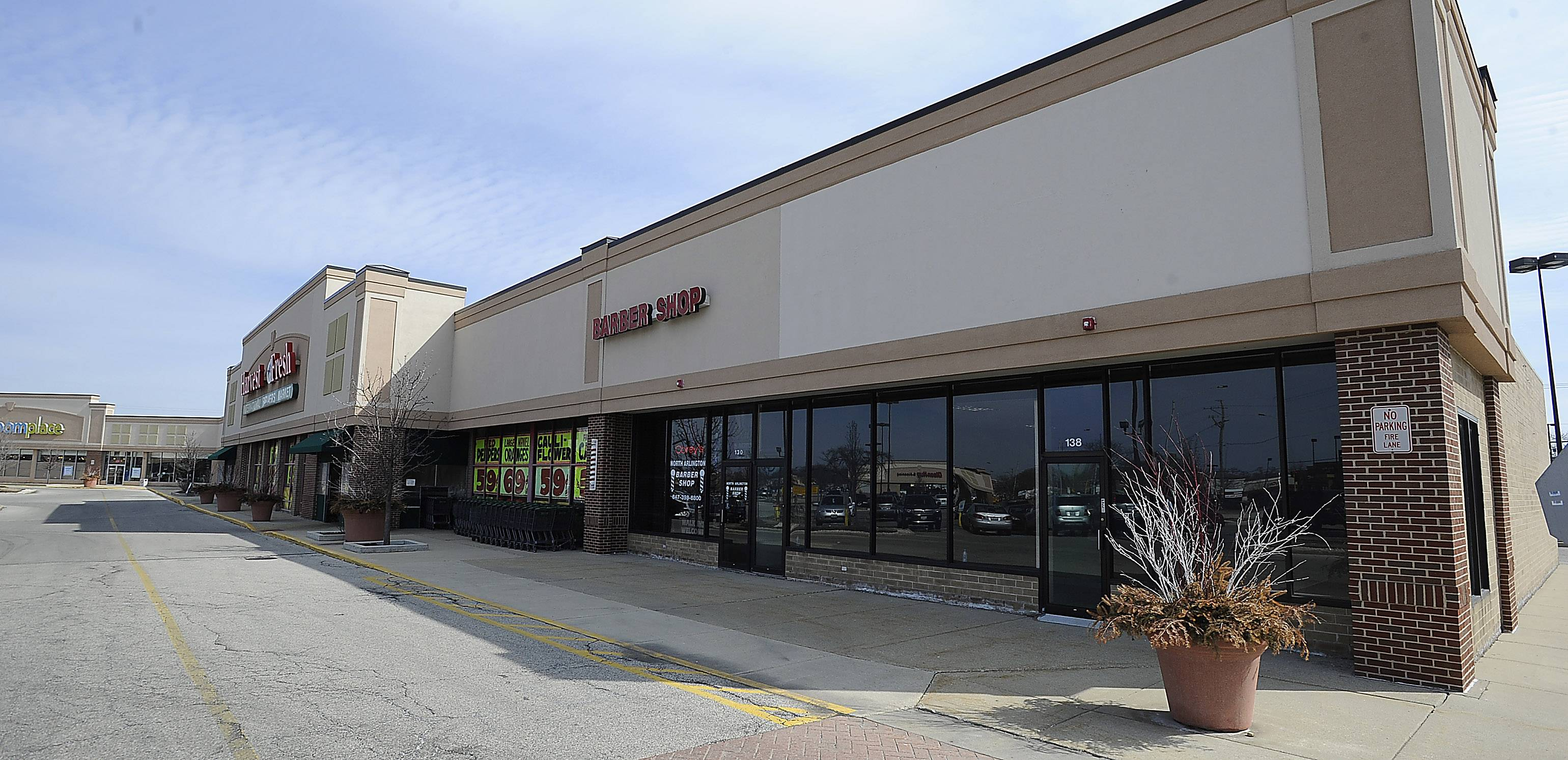 5th Avenue Sushi may soon open in a vacant space next to Harvest Fresh Market at Arlington Plaza in Arlington Heights.
