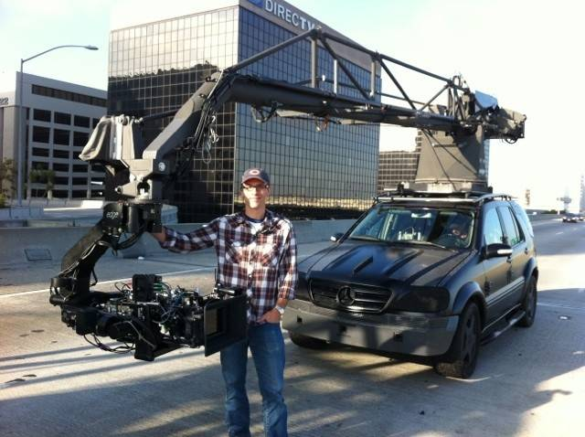 David Seekins, of Hoffman Estates, is a cameraman on dozens of TV shows, movies and commercials.