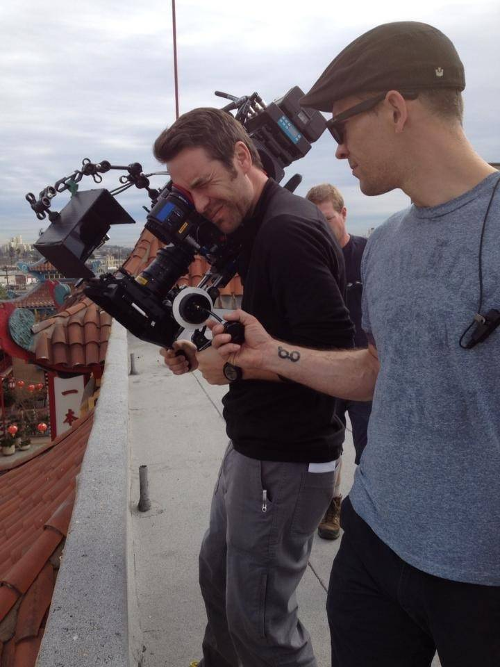 David Seekins, of Hoffman Estates, is a cameraman on TV, movies and commercials.