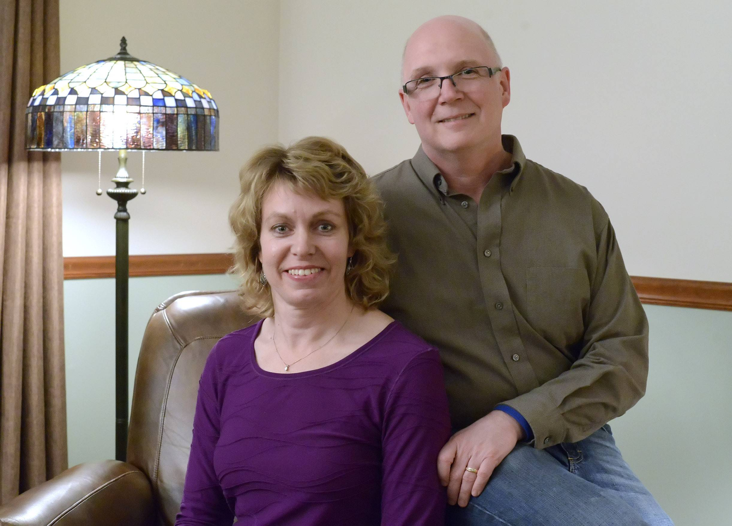 Bartlett residents Sharon and Devin Wells are organizing a 5K walk/race in Elgin on Aug. 2, on the anniversary to heighten awareness of colon cancer, which Sharon is beating.