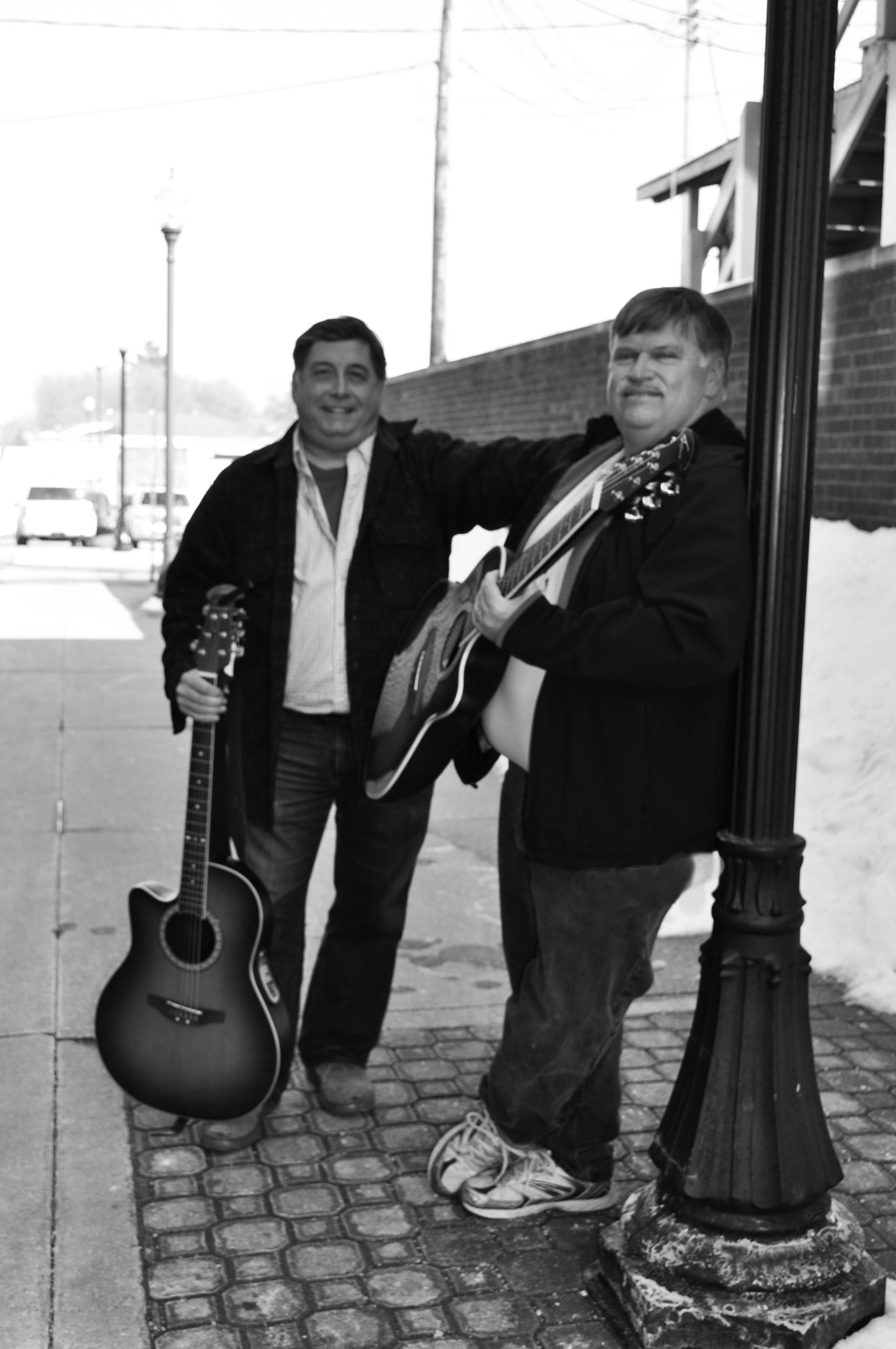 Frank and Steve (Frank Guzzo-left Steve Campbell-right)in Concert April 12, 7 p.m. at SummitView Christian Church, 695 Illinois Blvd, Hoffman Estates.Photography by Jamie (Jamie Morrow-Schoff)