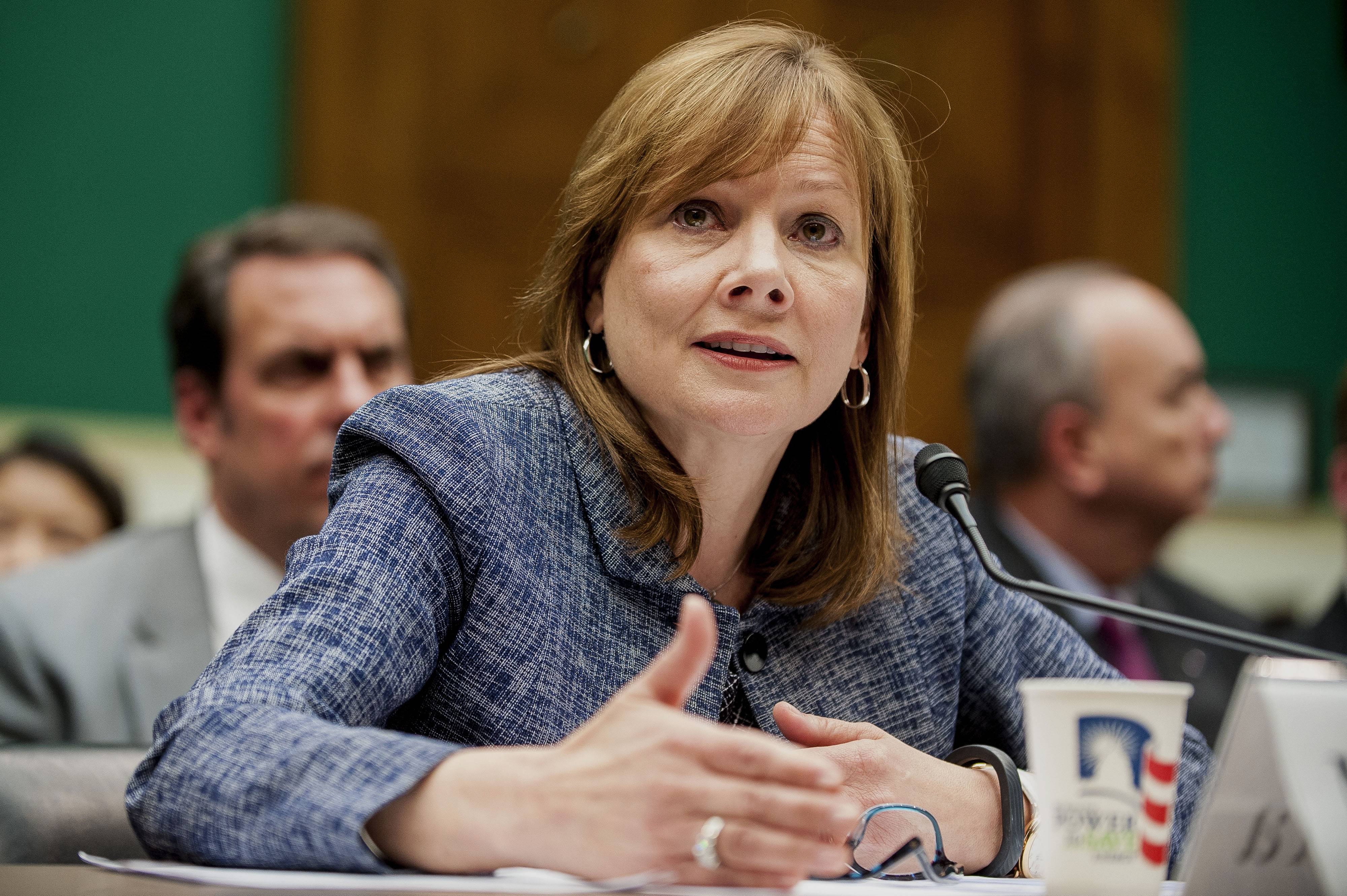 "General Motors CEO Mary Barra fielded pointed questions and accusations from U.S. senators again Wednesday, with one saying GM had a ""culture of cover-up"" and another predicting it may face criminal liability."
