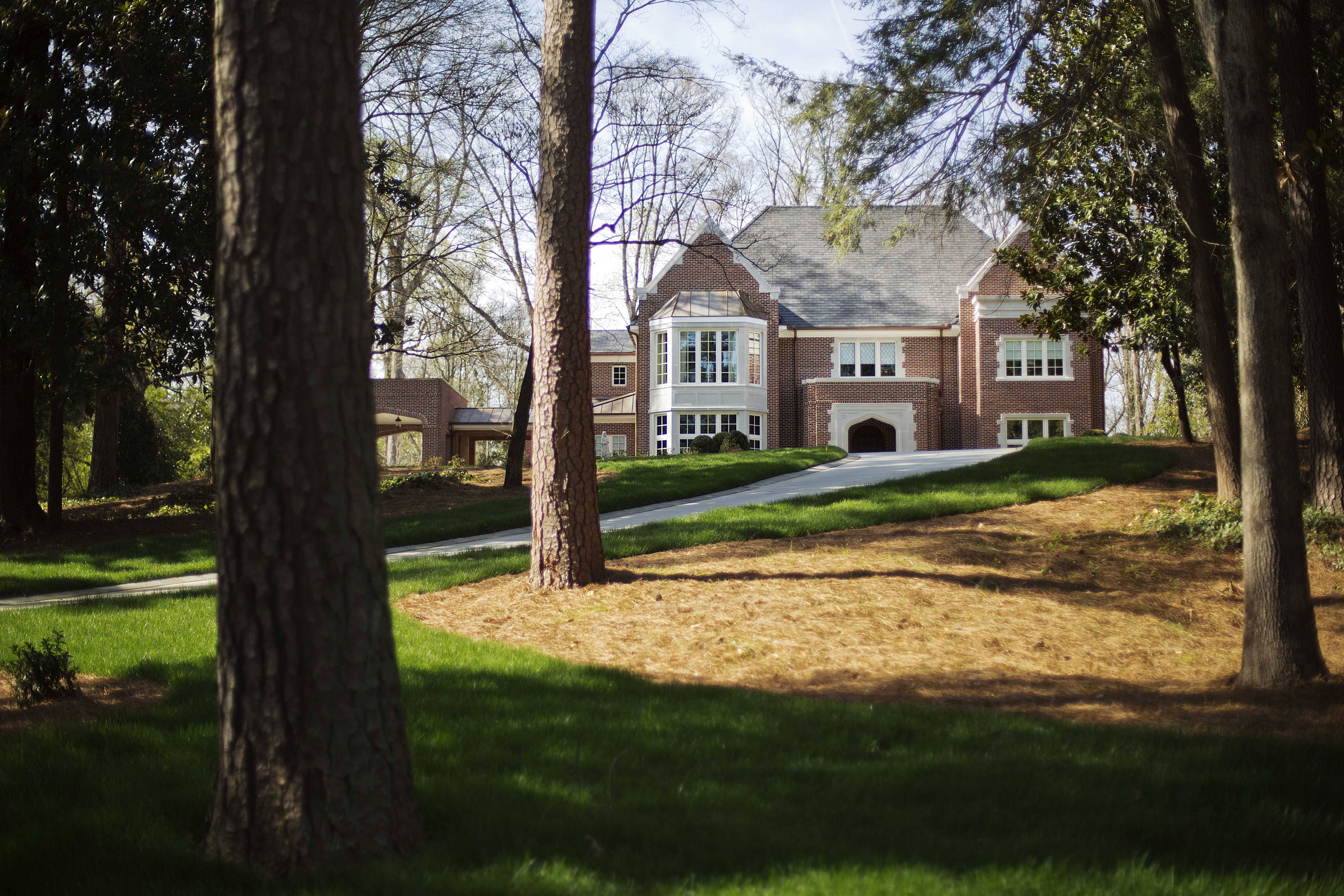 This is the $2.2 million residence of Atlanta Archbishop Wilton Gregory in the upscale Buckhead neighborhood in Atlanta. Gregory apologized for his spending and offered to put the home up for sale after Pope Francis permanently removed a German bishop for his lavish spending on a renovation project.