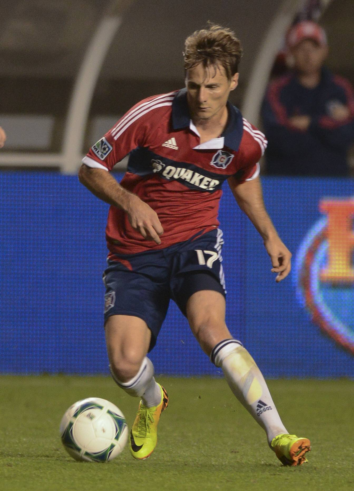 Veteran forward Chris Rolfe, who was drafted by the Chicago Fire in 2005, has been traded to D.C. United.