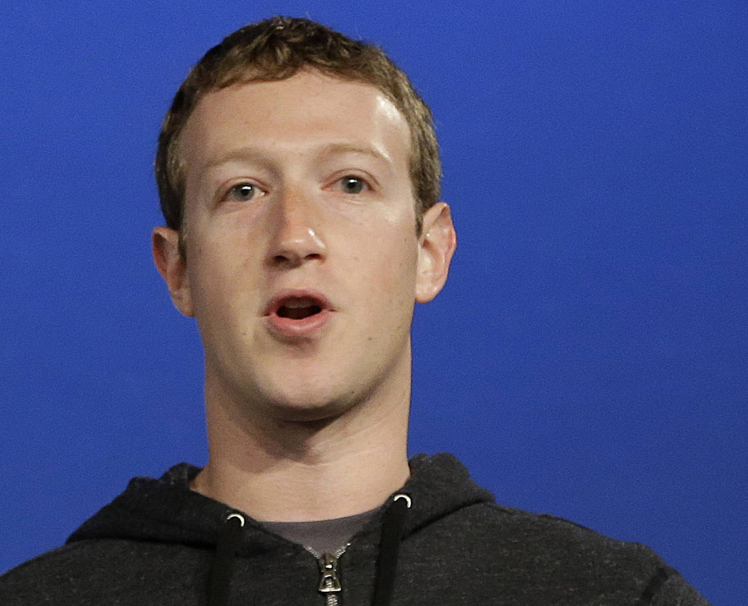Facebook CEO Mark Zuckerberg reaped a $3.3 billion gain last year by exercising stock options.
